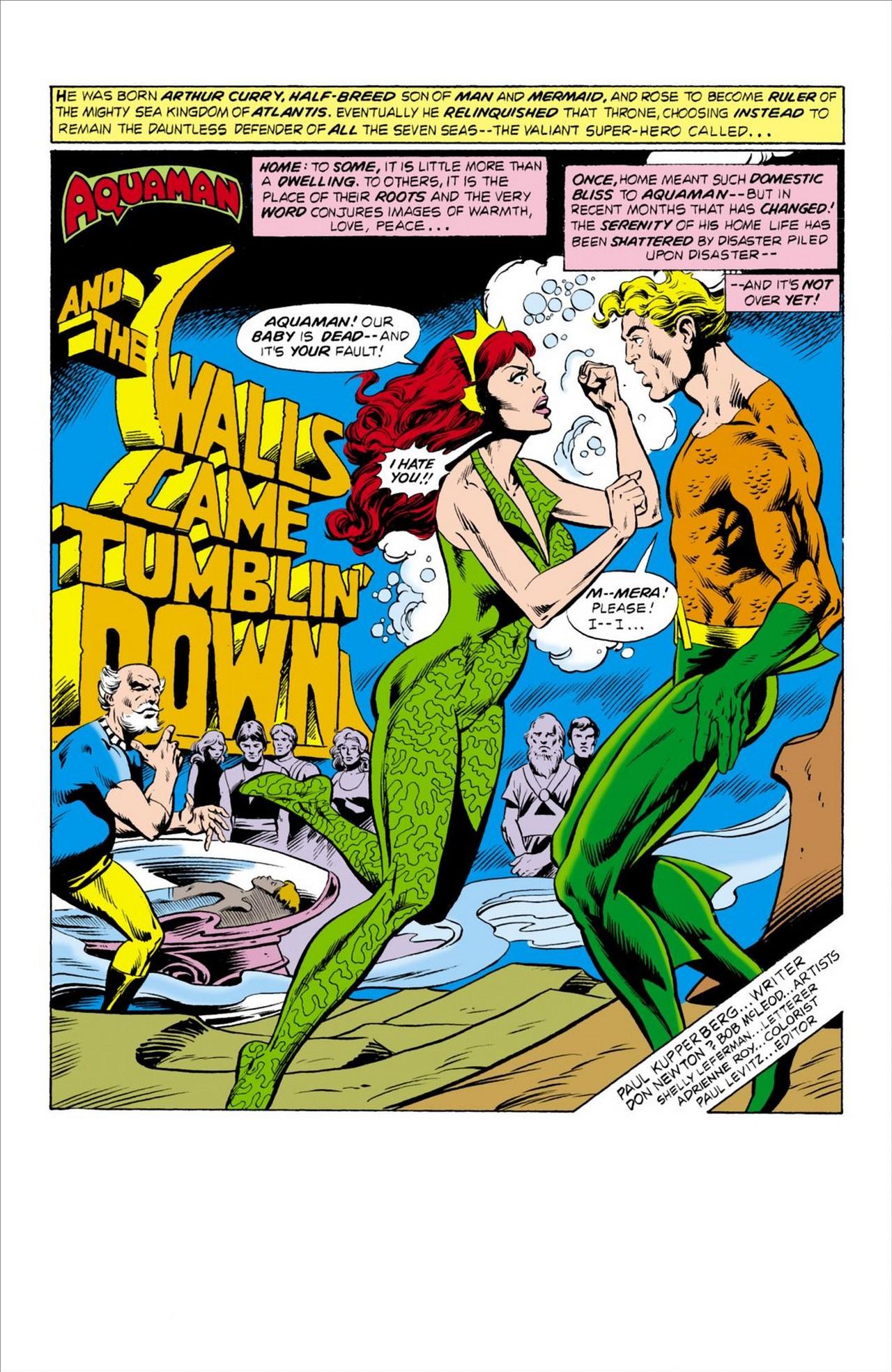Read online Aquaman (1962) comic -  Issue #62 - 2