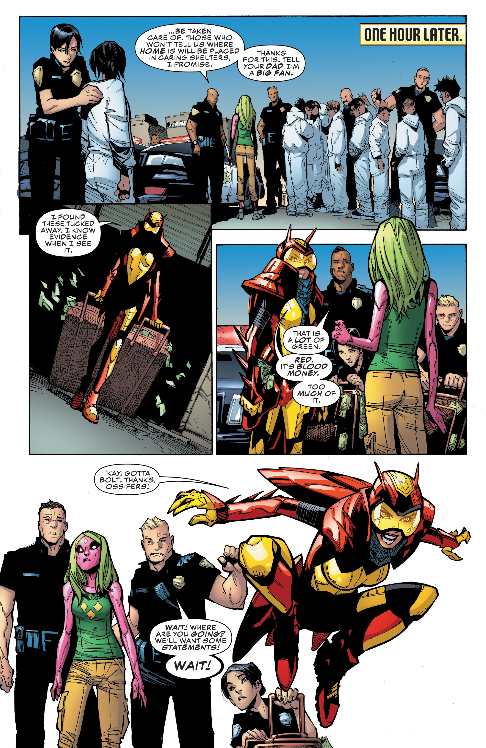 Read online Champions (2016) comic -  Issue #9 - 17
