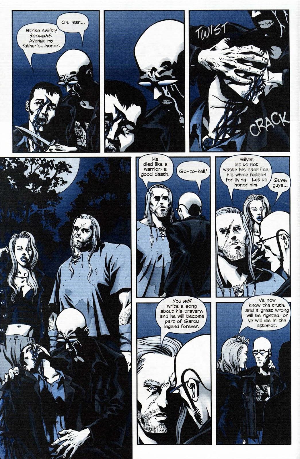 Read online Werewolf the Apocalypse comic -  Issue # Get of Fenris - 42
