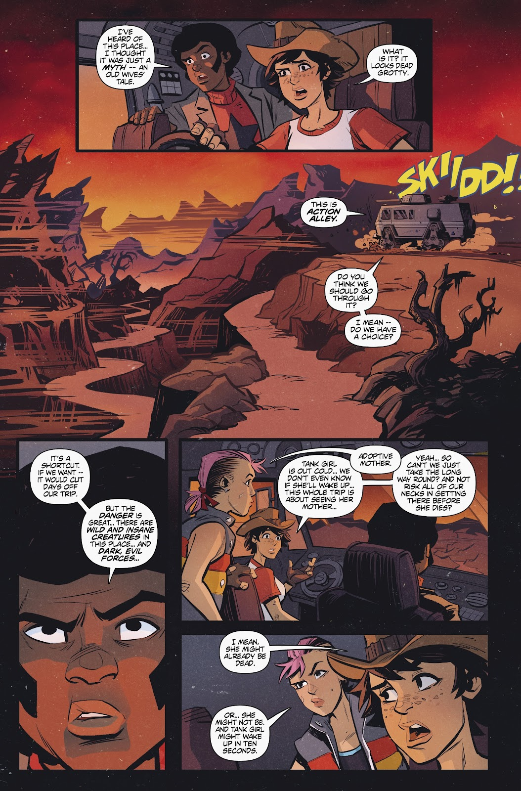 Read online Tank Girl Ongoing comic -  Issue #2 - 13