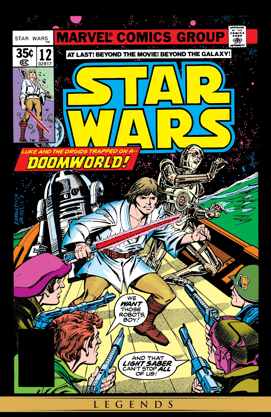 Read online Star Wars Legends: The Original Marvel Years - Epic Collection comic -  Issue # TPB 1 (Part 3) - 8