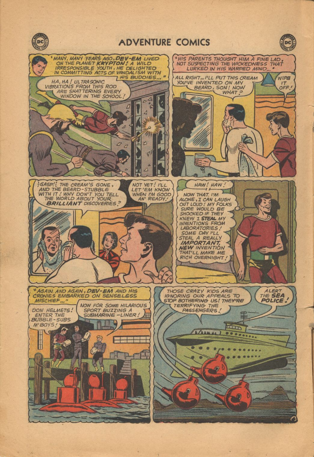 Read online Adventure Comics (1938) comic -  Issue #320 - 6