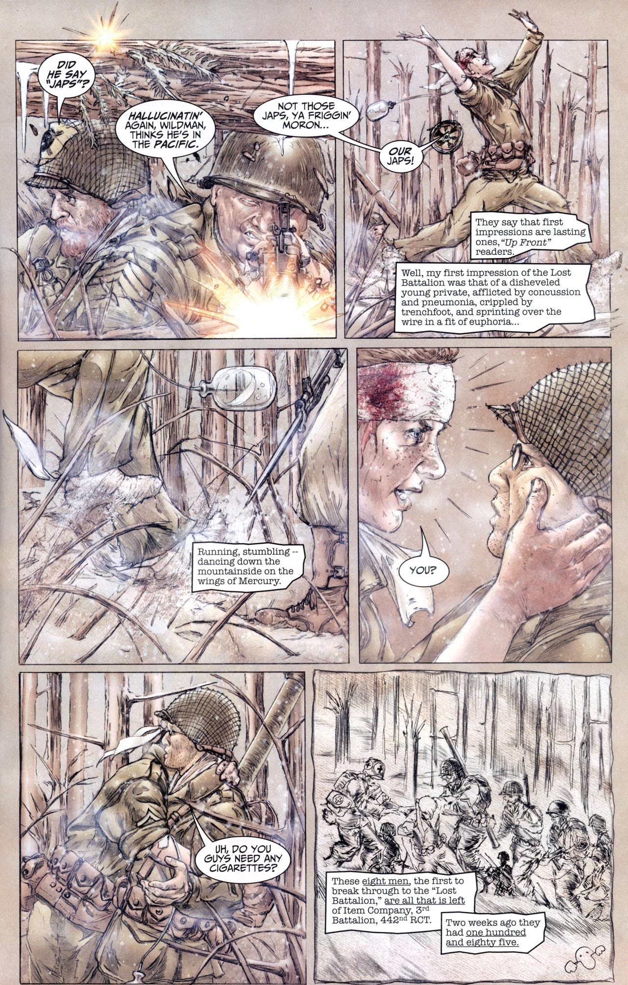 Read online Sgt. Rock: The Lost Battalion comic -  Issue #6 - 8