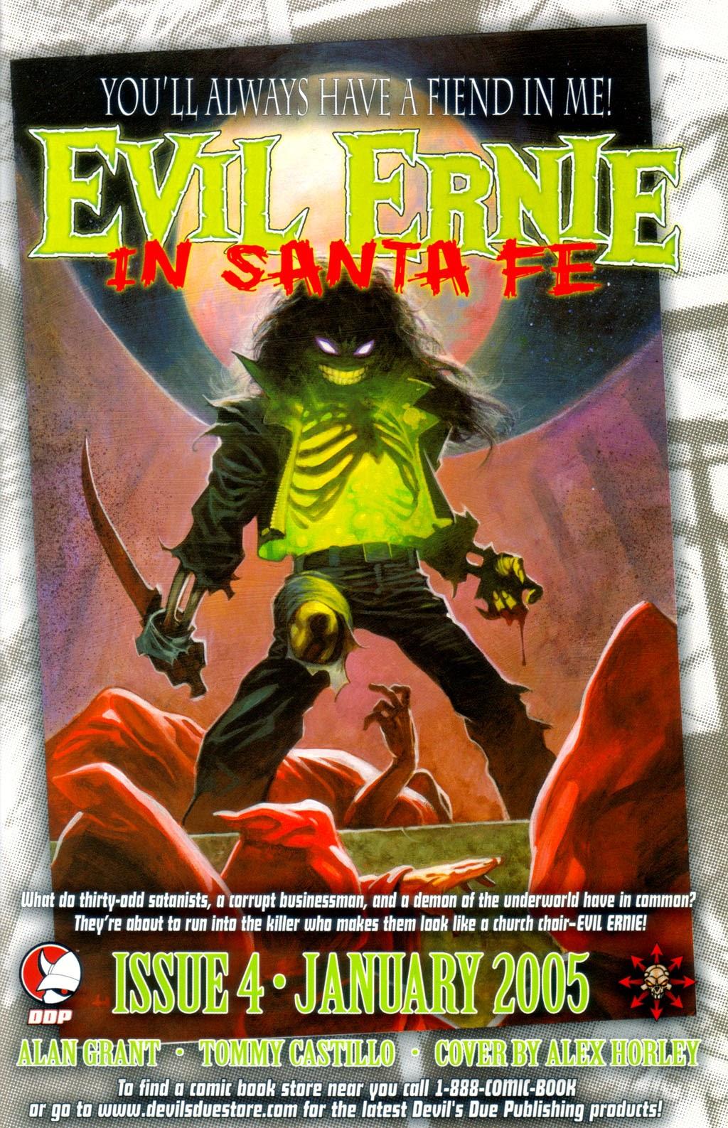 Read online Evil Ernie in Santa Fe comic -  Issue #3 - 24
