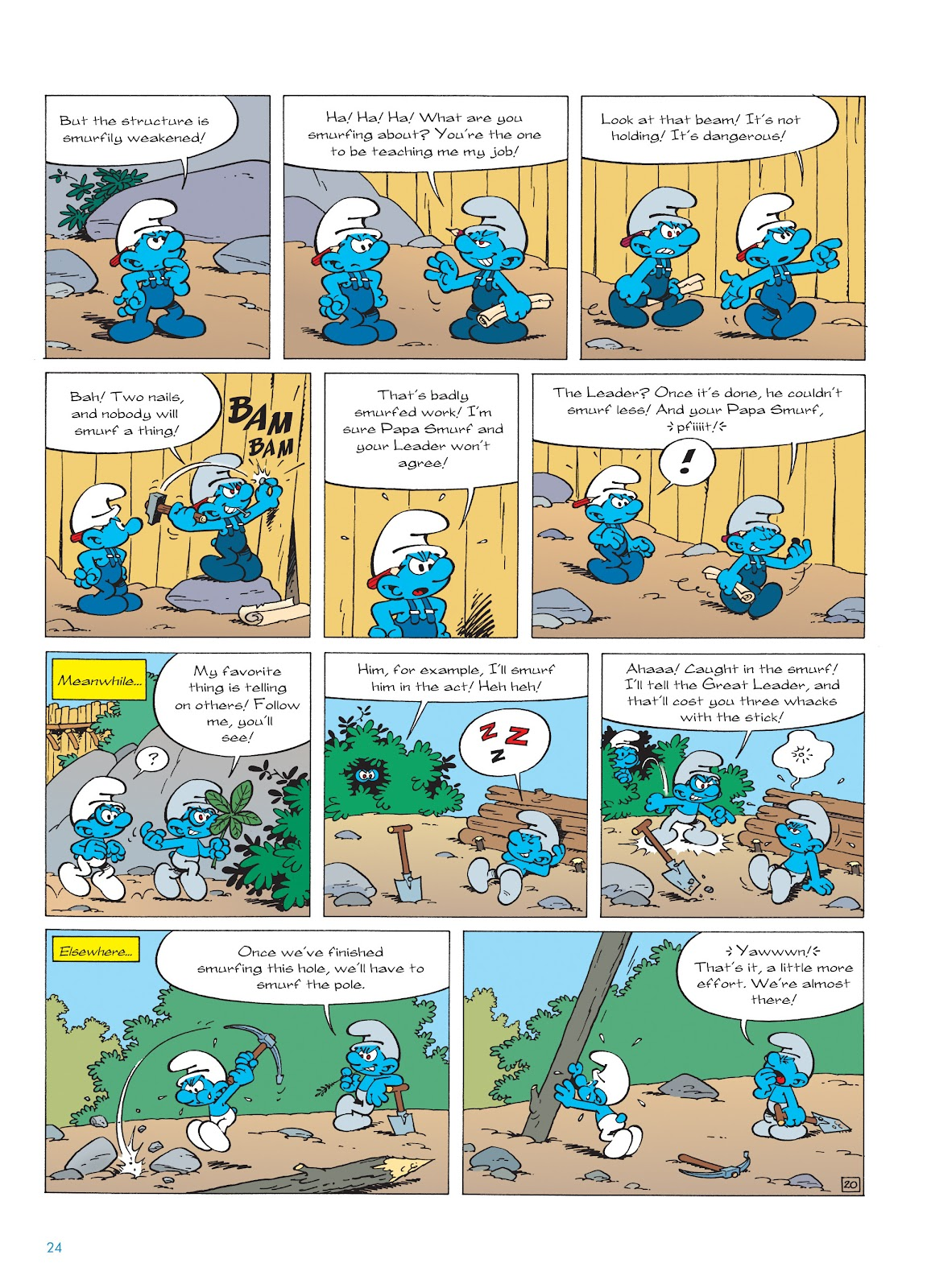Read online The Smurfs comic -  Issue #22 - 25