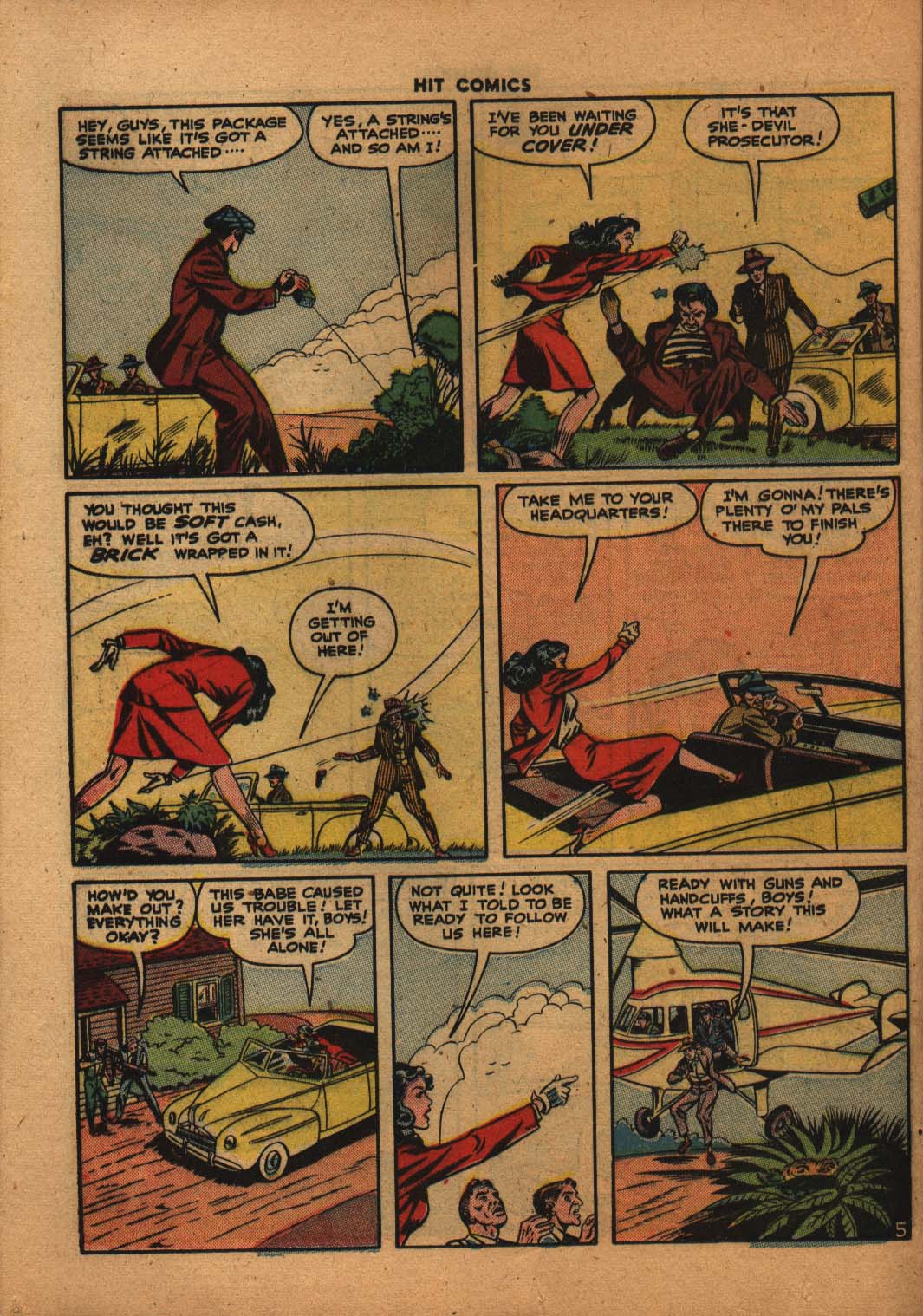 Read online Hit Comics comic -  Issue #47 - 29
