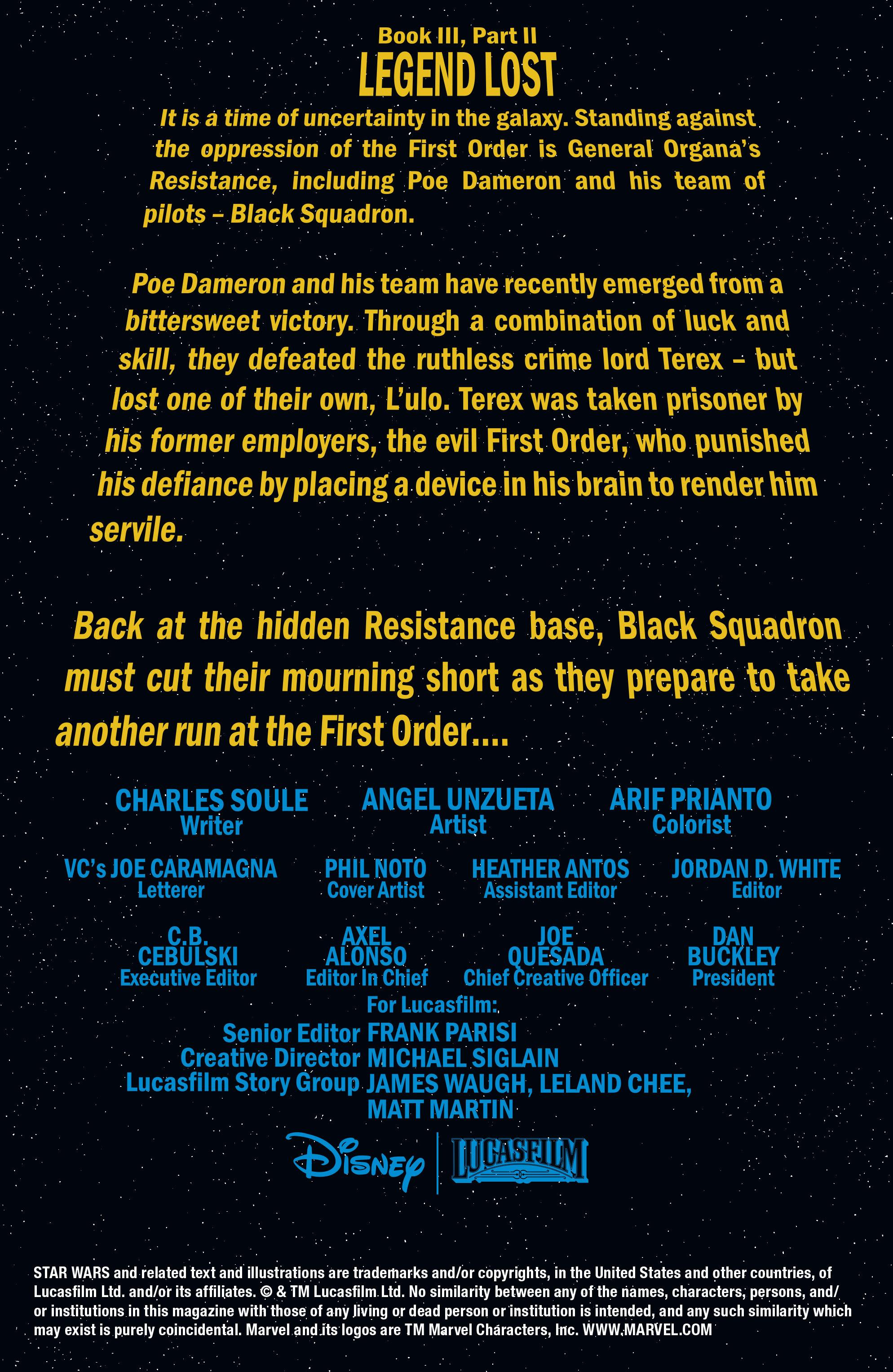 Read online Star Wars: Poe Dameron comic -  Issue #15 - 2