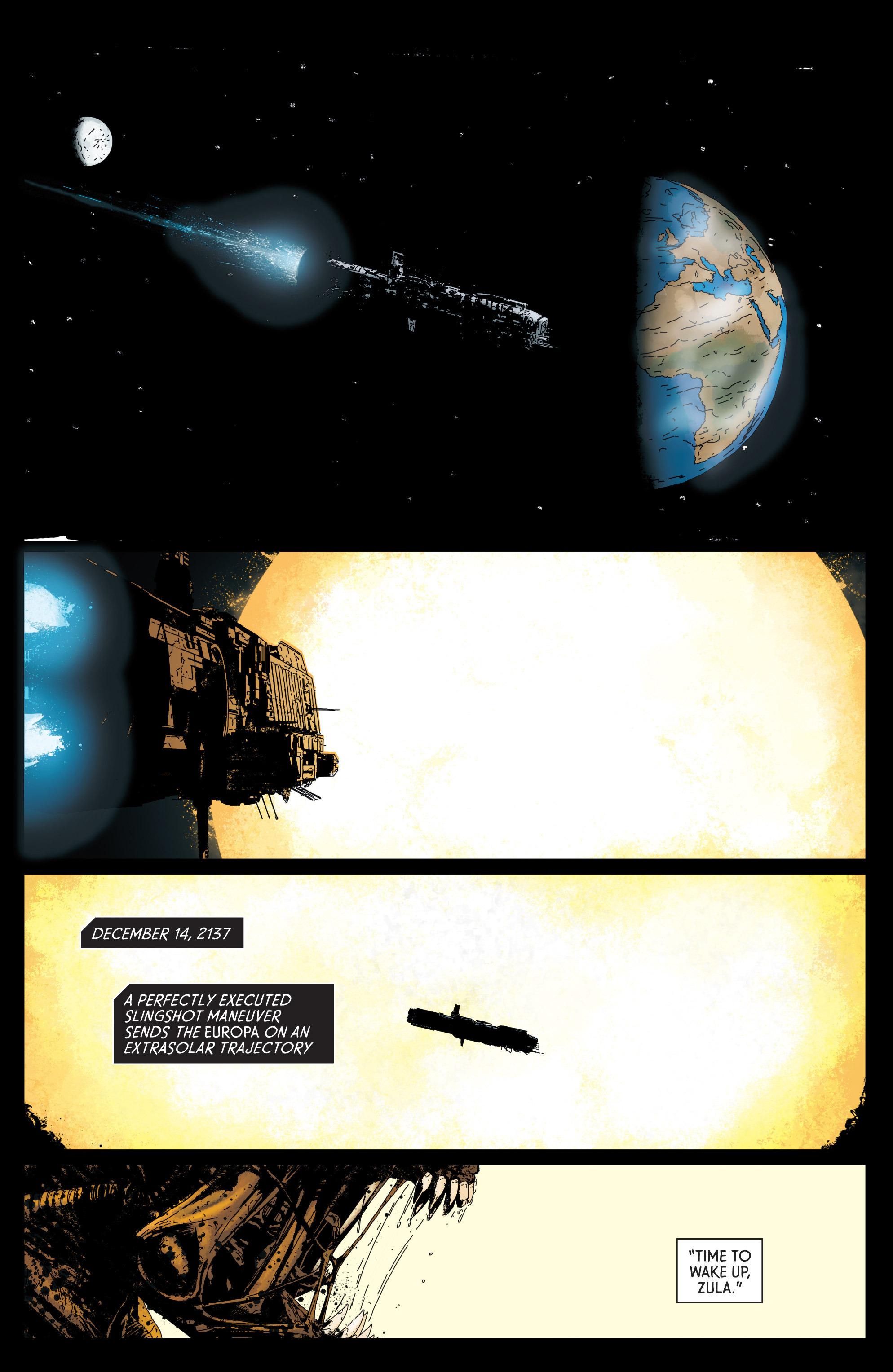 Read online Aliens: Defiance comic -  Issue #1 - 21