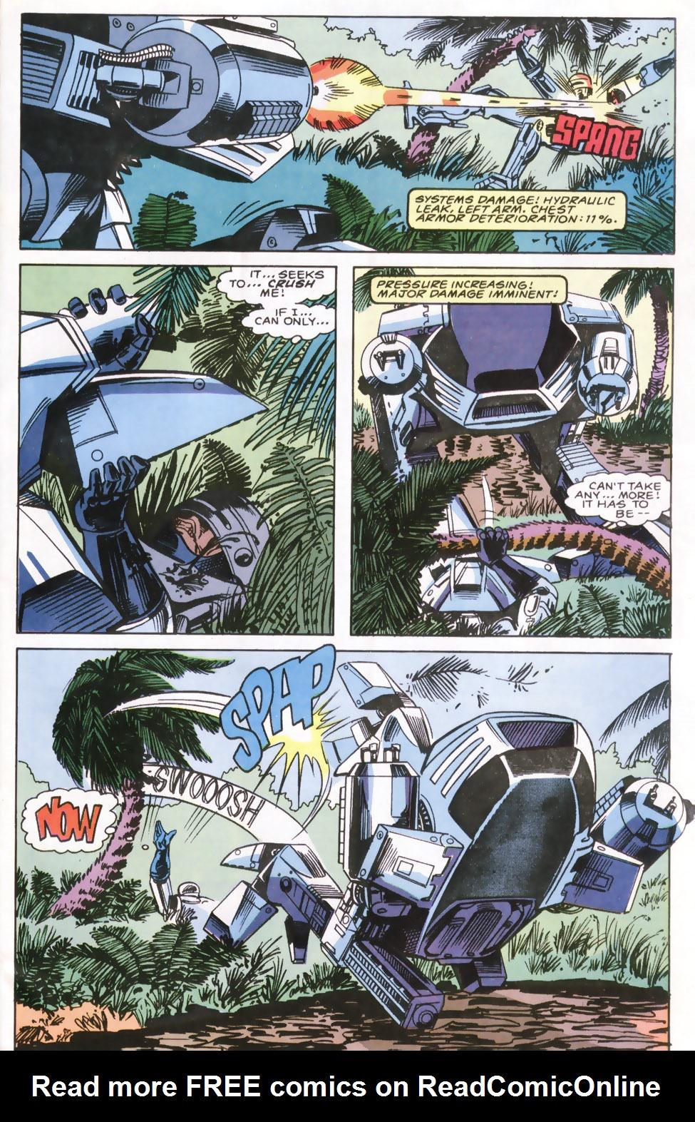Read online Robocop (1990) comic -  Issue #6 - 19