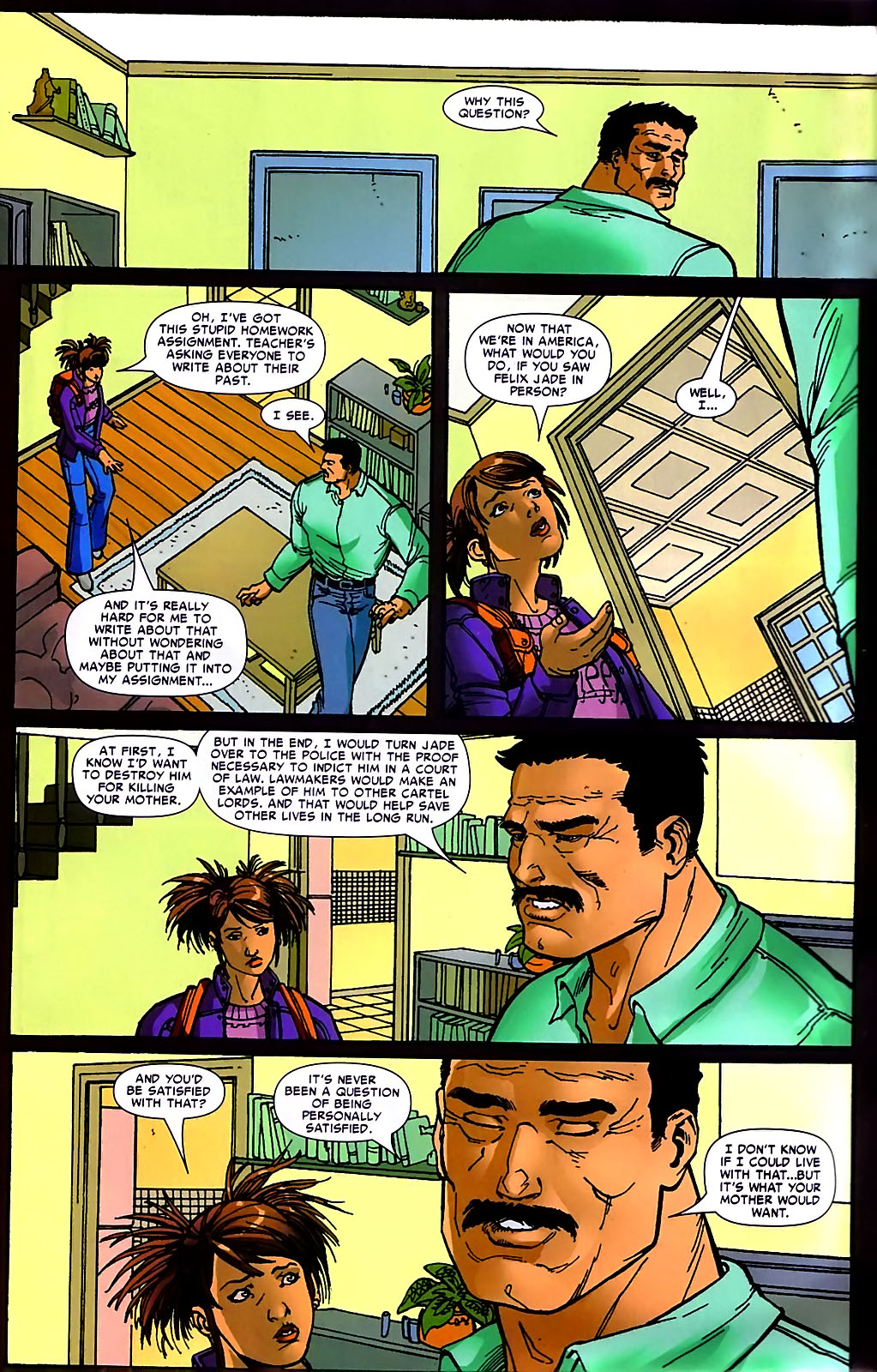 Read online Araña: Heart of the Spider comic -  Issue #10 - 12