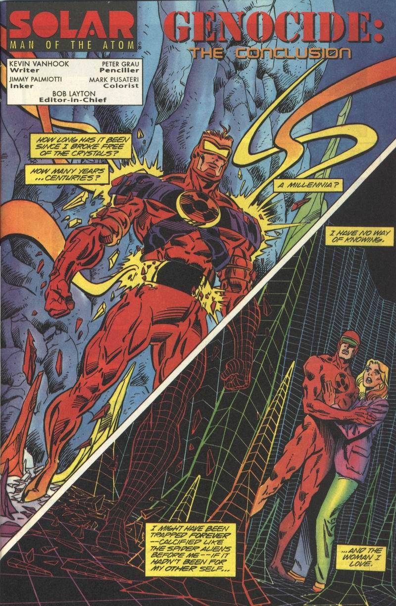 Read online Solar, Man of the Atom comic -  Issue #35 - 2