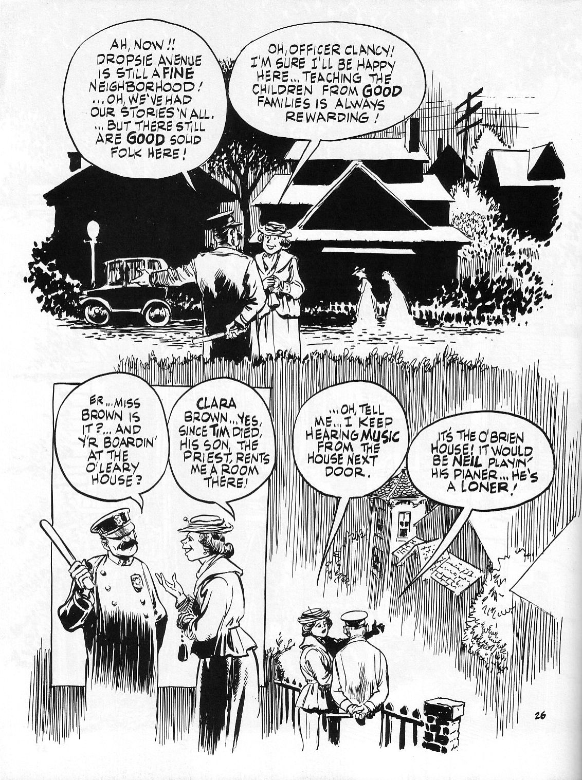 Read online Dropsie Avenue, The Neighborhood comic -  Issue # Full - 28