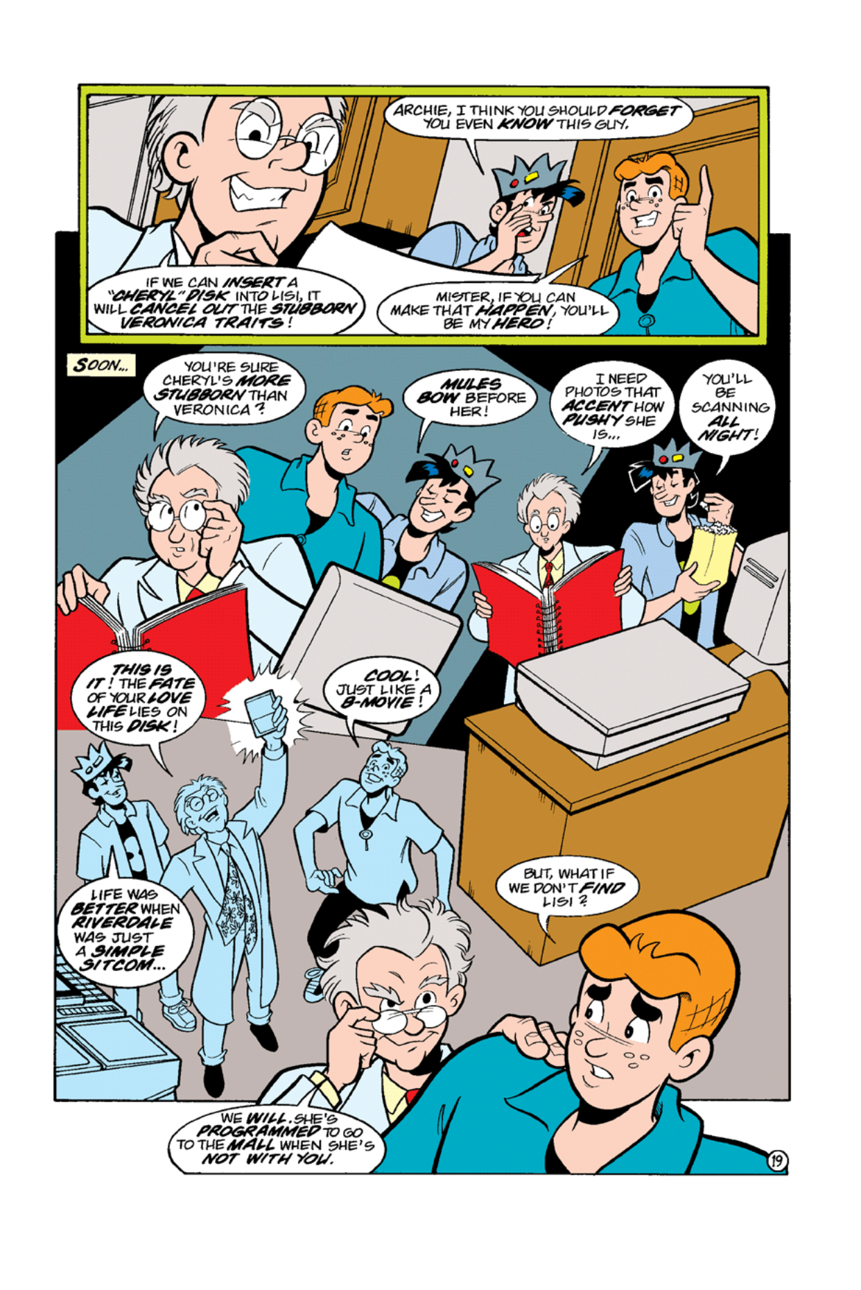 Read online Archie's Weird Mysteries comic -  Issue #9 - 21