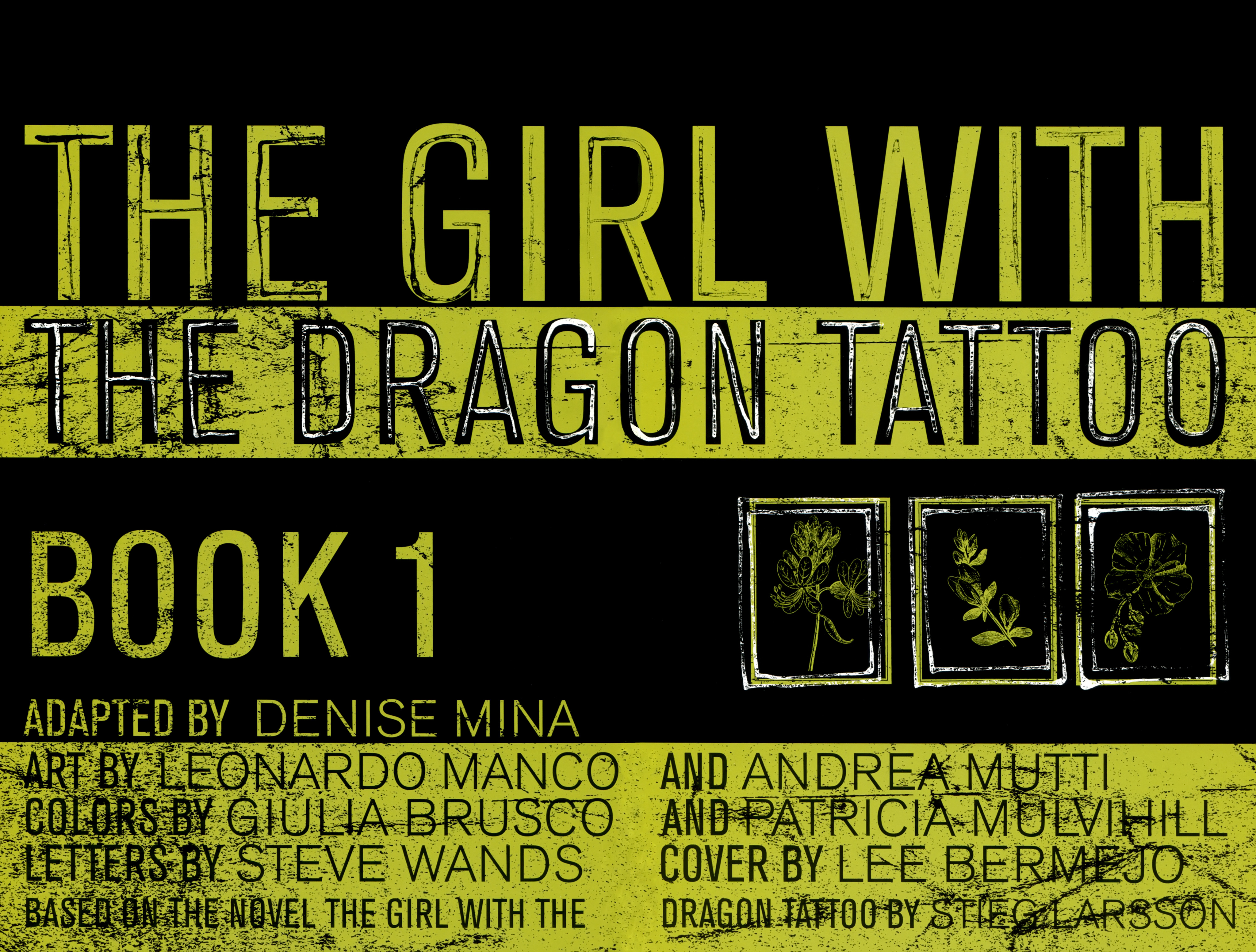 Read online The Girl With the Dragon Tattoo comic -  Issue # TPB 1 - 6