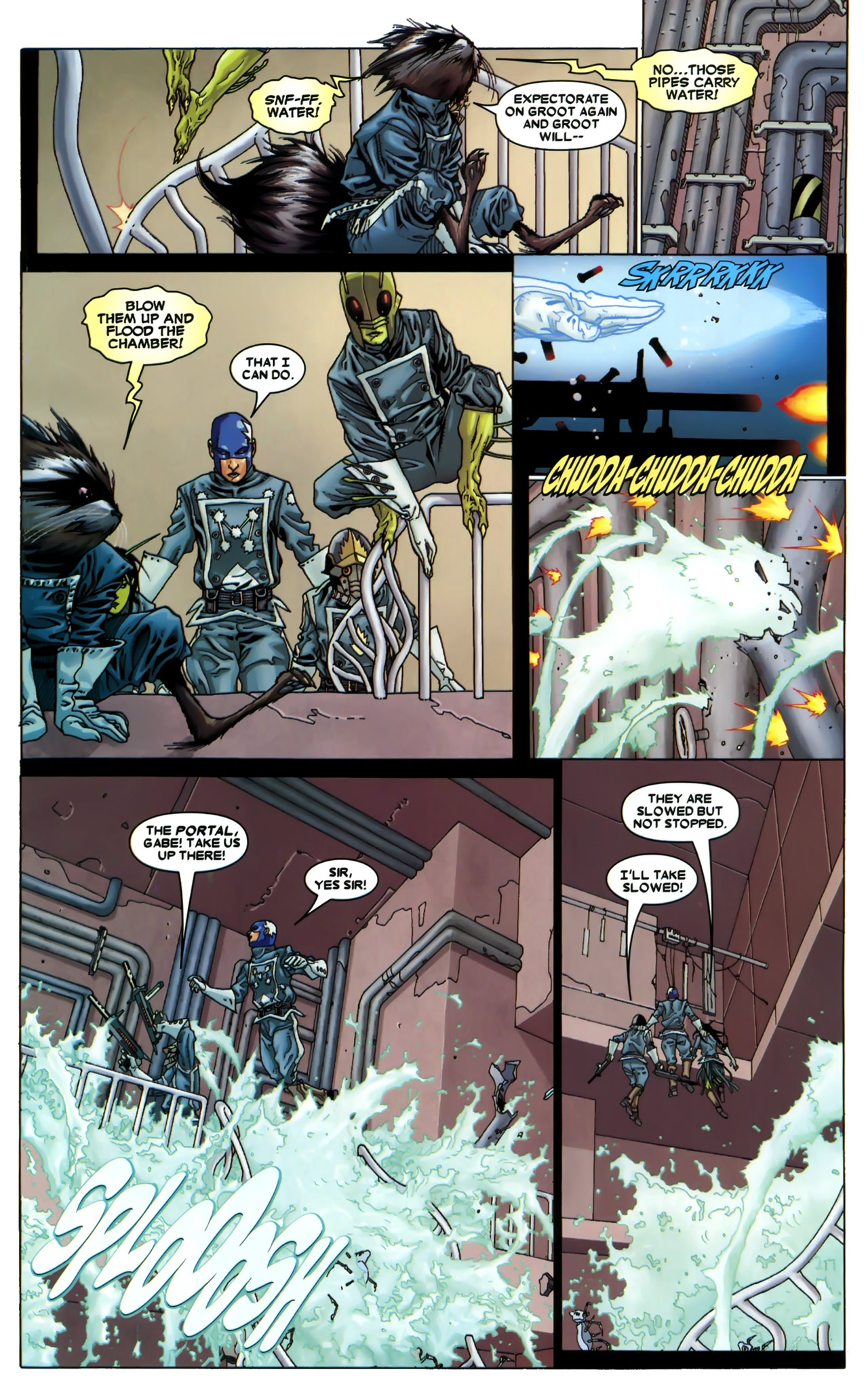Read online Annihilation: Conquest - Starlord comic -  Issue #3 - 16