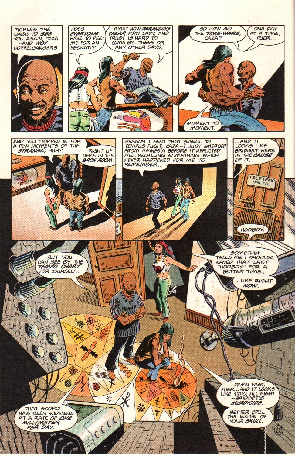 Read online Aztec Ace comic -  Issue #12 - 13