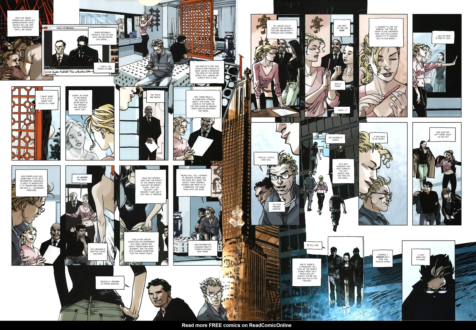 Read online Cutting Edge (2013) comic -  Issue #4 - 29