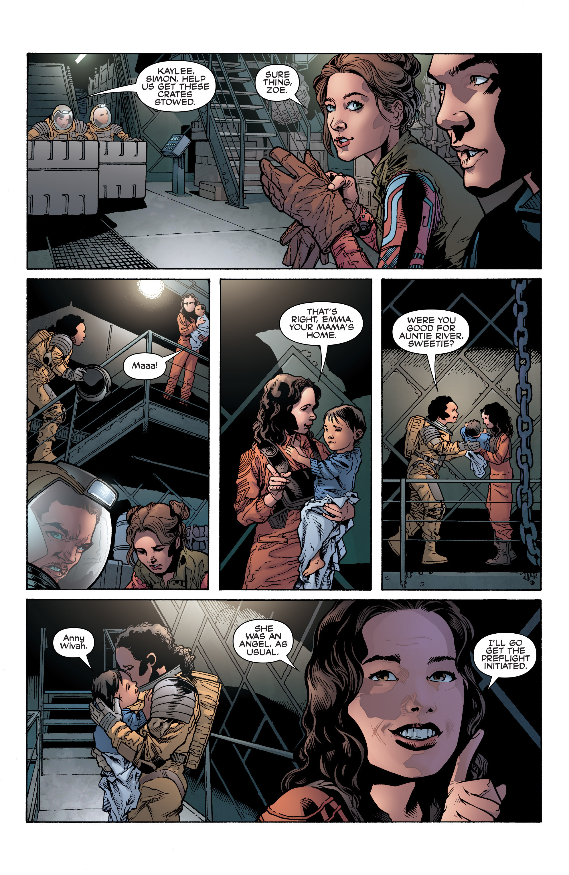 Read online Serenity: Firefly Class 03-K64 – No Power in the 'Verse comic -  Issue #1 - 14