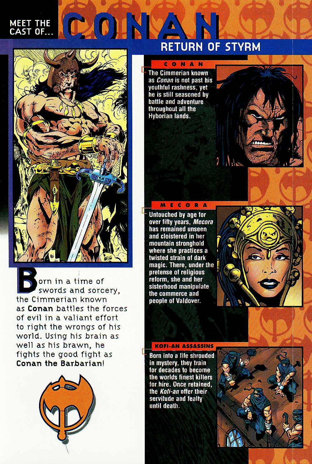 Read online Conan: Return of Styrm comic -  Issue #2 - 2