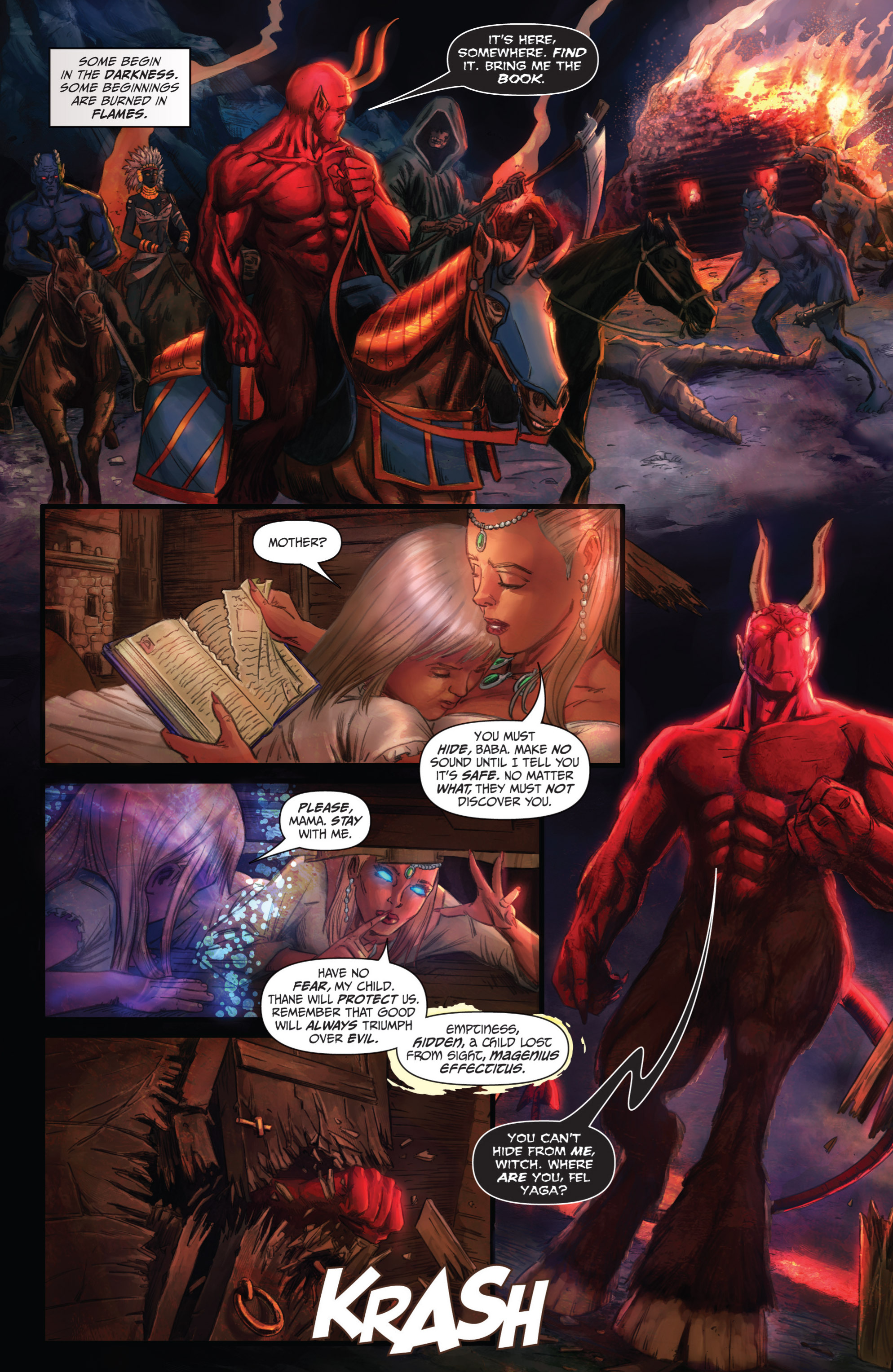 Read online Grimm Fairy Tales presents Grimm Universe comic -  Issue # TPB - 169
