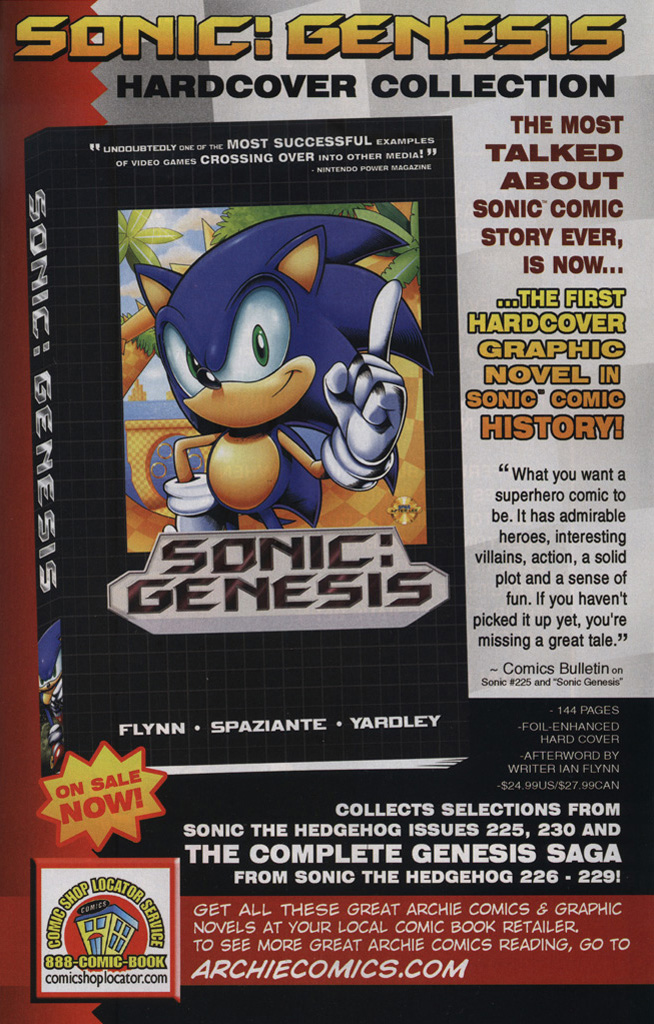 Read online Sonic the Hedgehog Free Comic Book Day Edition comic -  Issue # Special 6 - 25