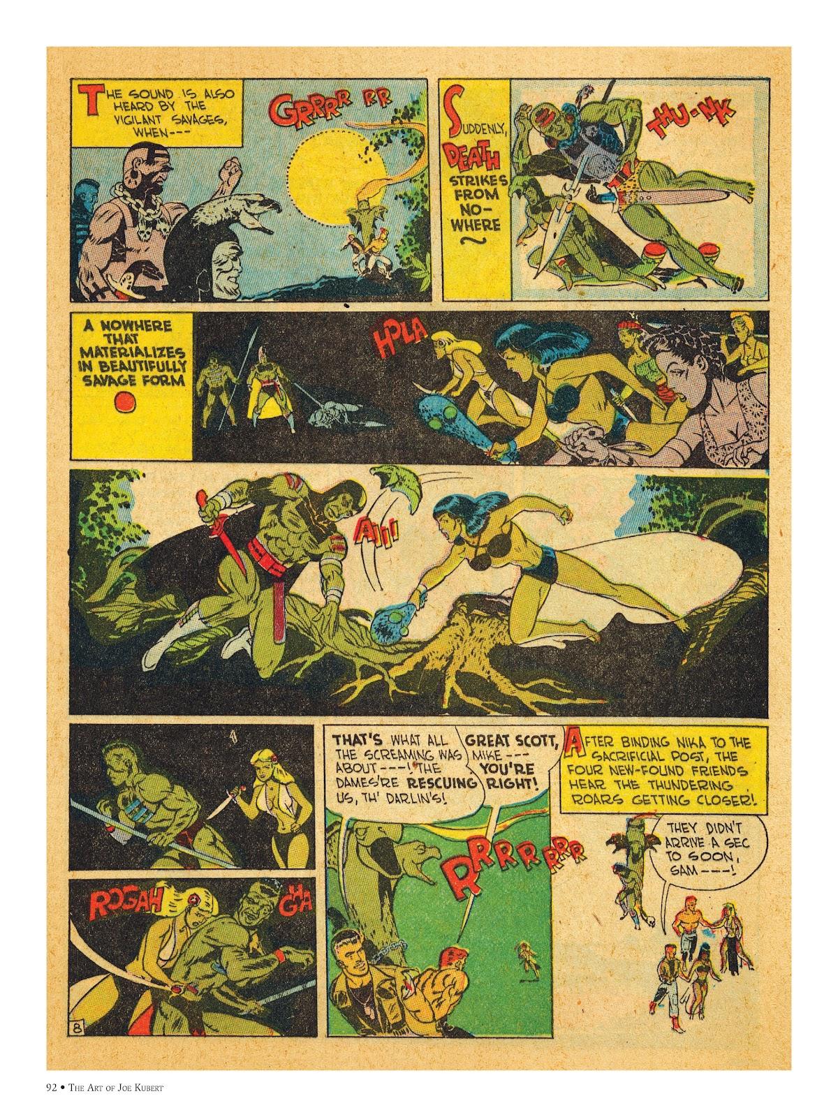 Read online The Art of Joe Kubert comic -  Issue # TPB (Part 1) - 91