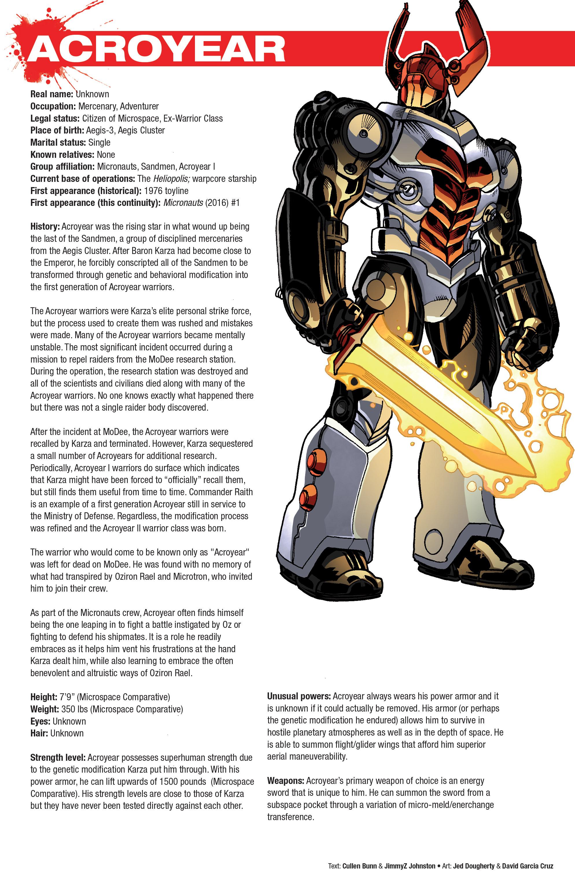 Read online Hasbro Heroes Sourcebook comic -  Issue #1 - 8