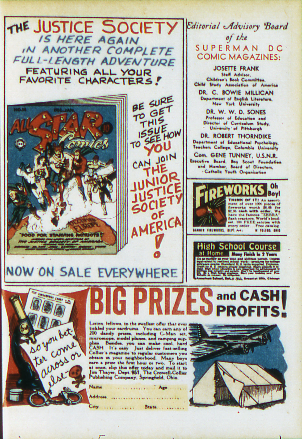 Read online Adventure Comics (1938) comic -  Issue #81 - 46