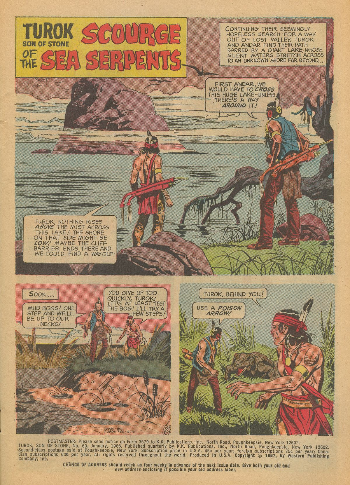 Read online Turok, Son of Stone comic -  Issue #60 - 3