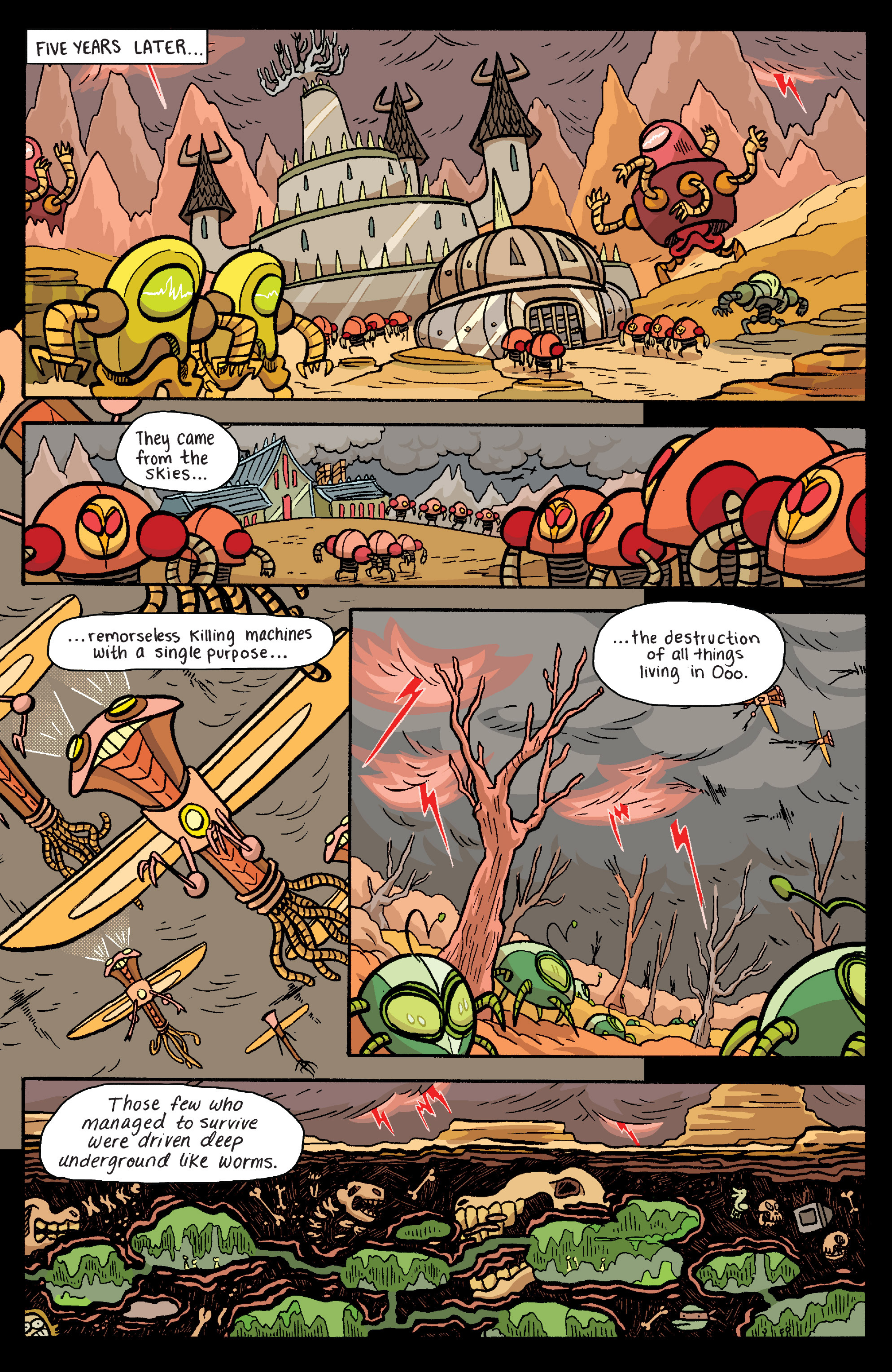 Read online Adventure Time: Banana Guard Academ comic -  Issue #6 - 3