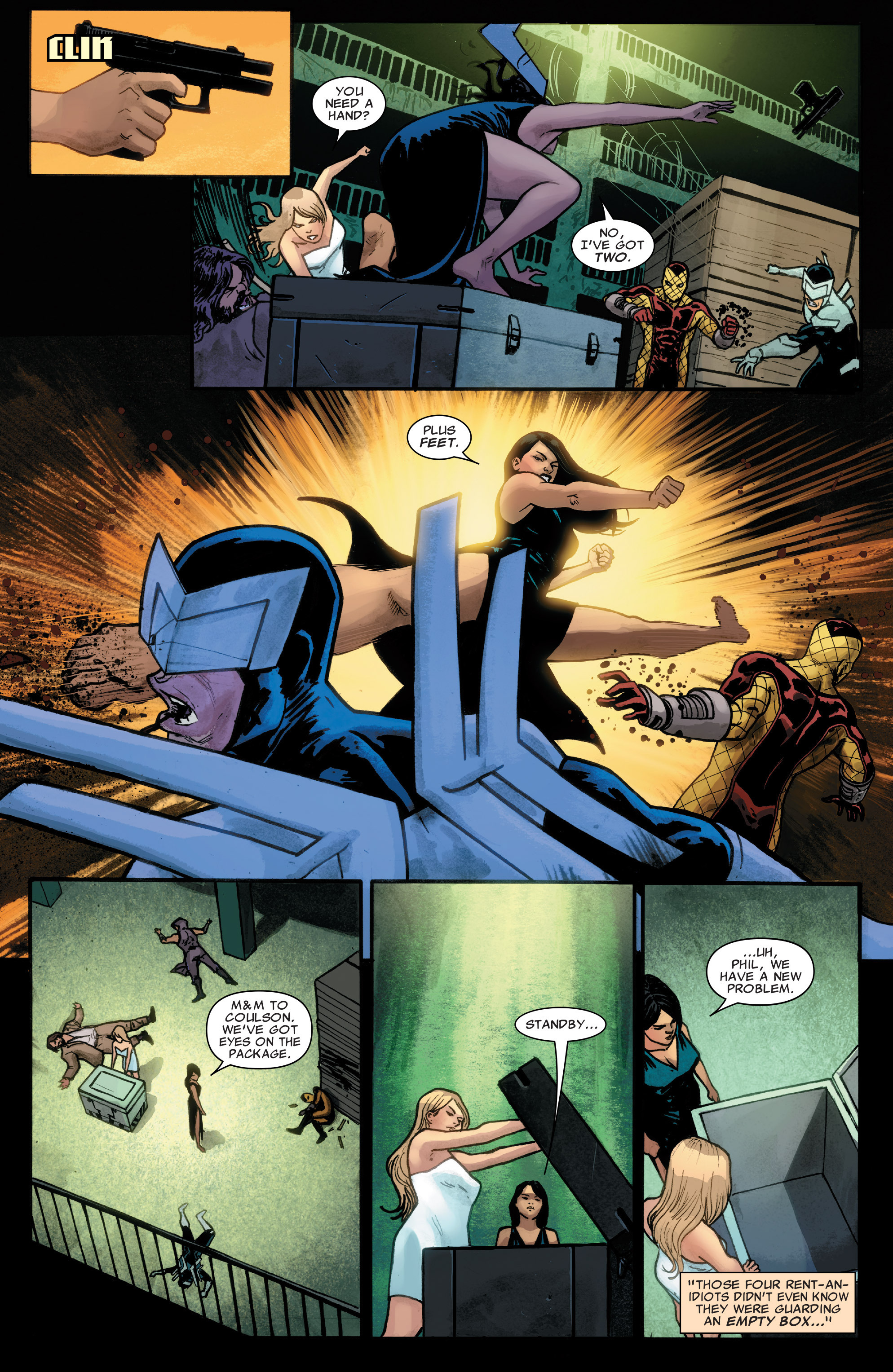 Read online Agents of S.H.I.E.L.D. comic -  Issue #4 - 14