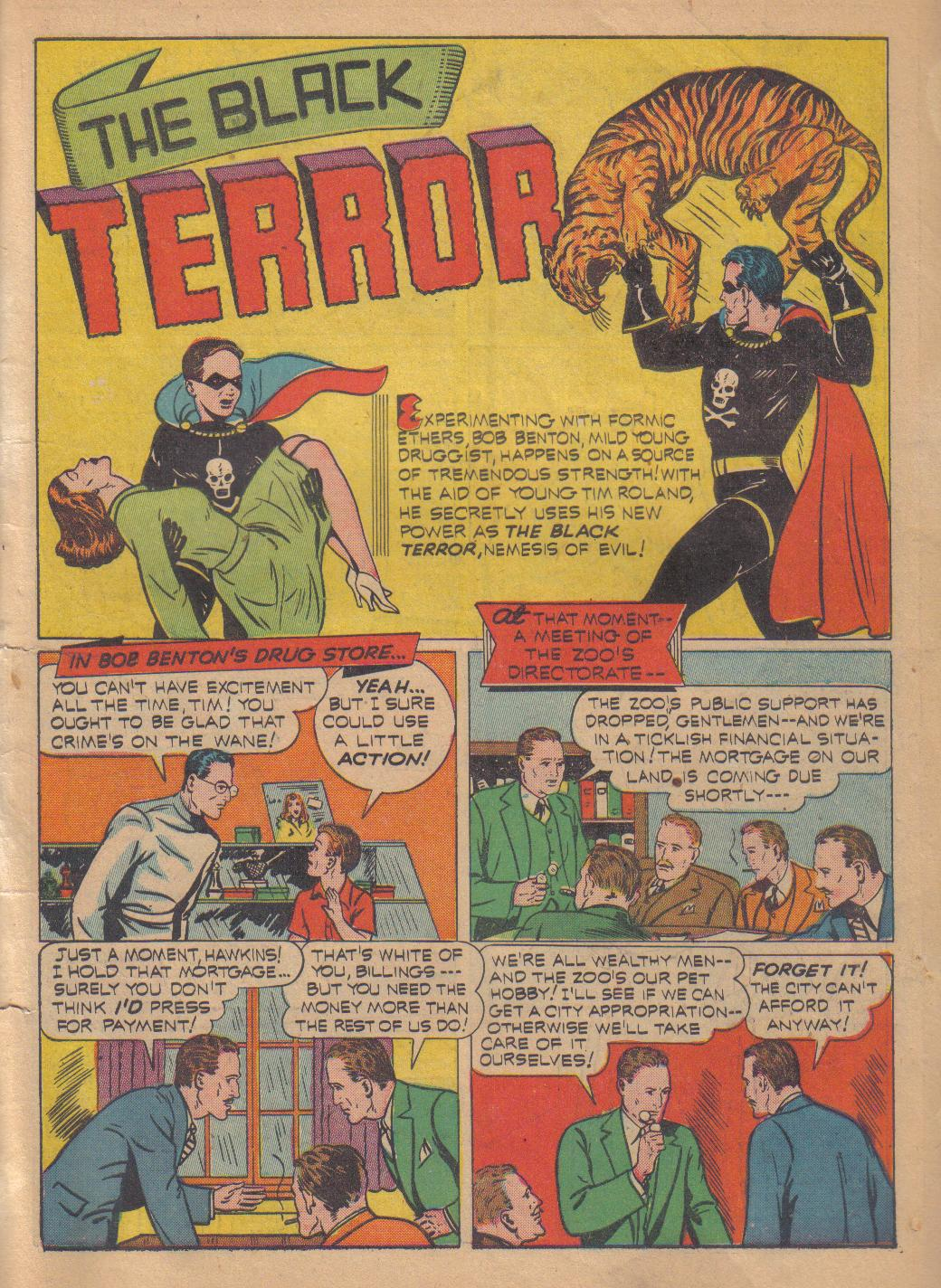 Exciting Comics (1940) issue 13 - Page 3