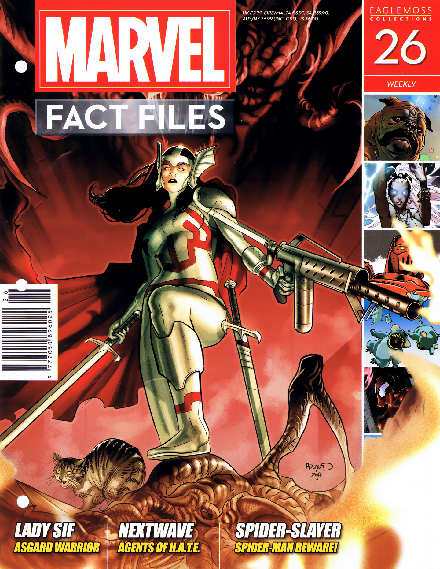 Marvel Fact Files 26 Page 1