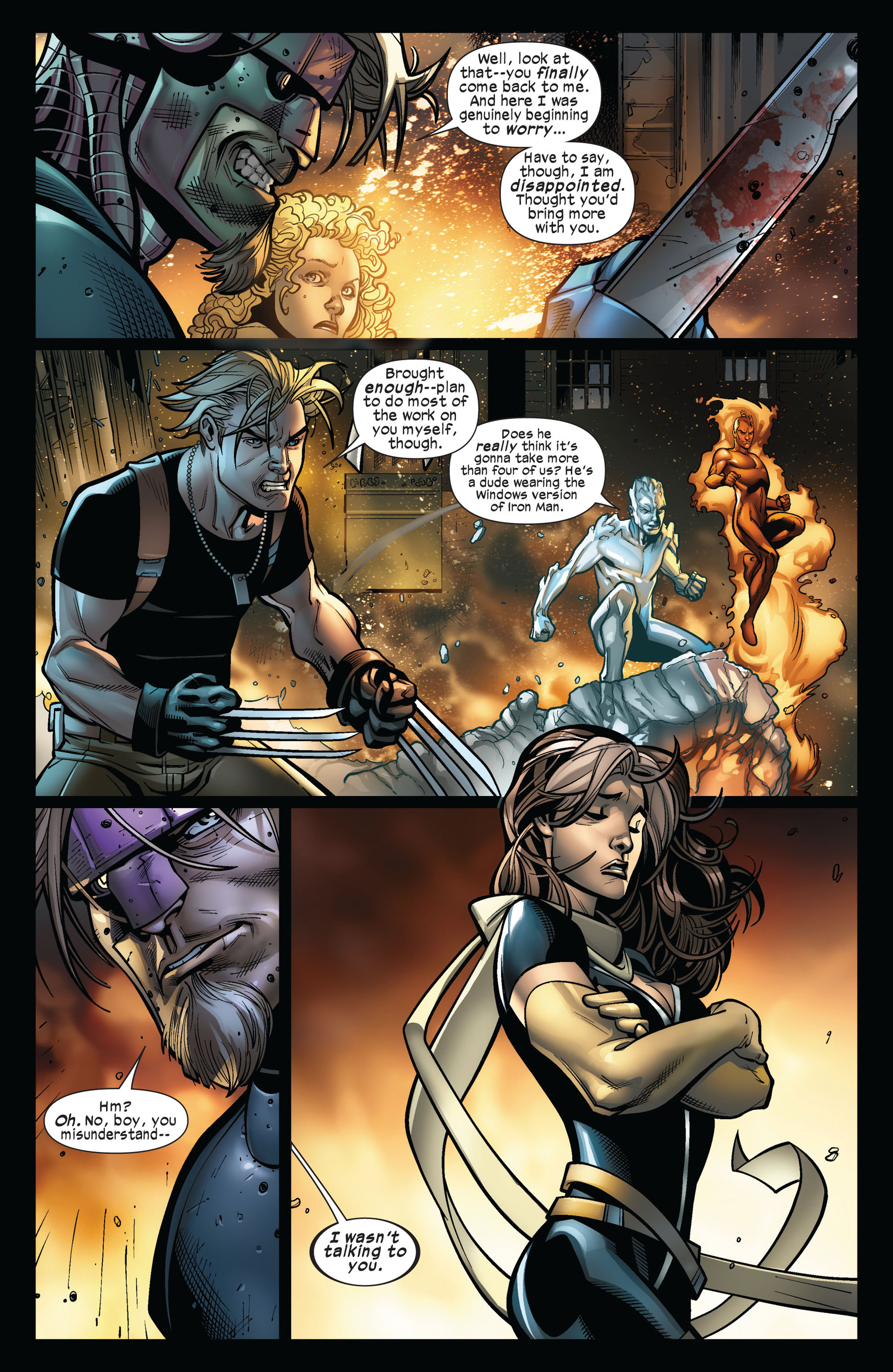 Read online Ultimate Comics X-Men comic -  Issue #5 - 13