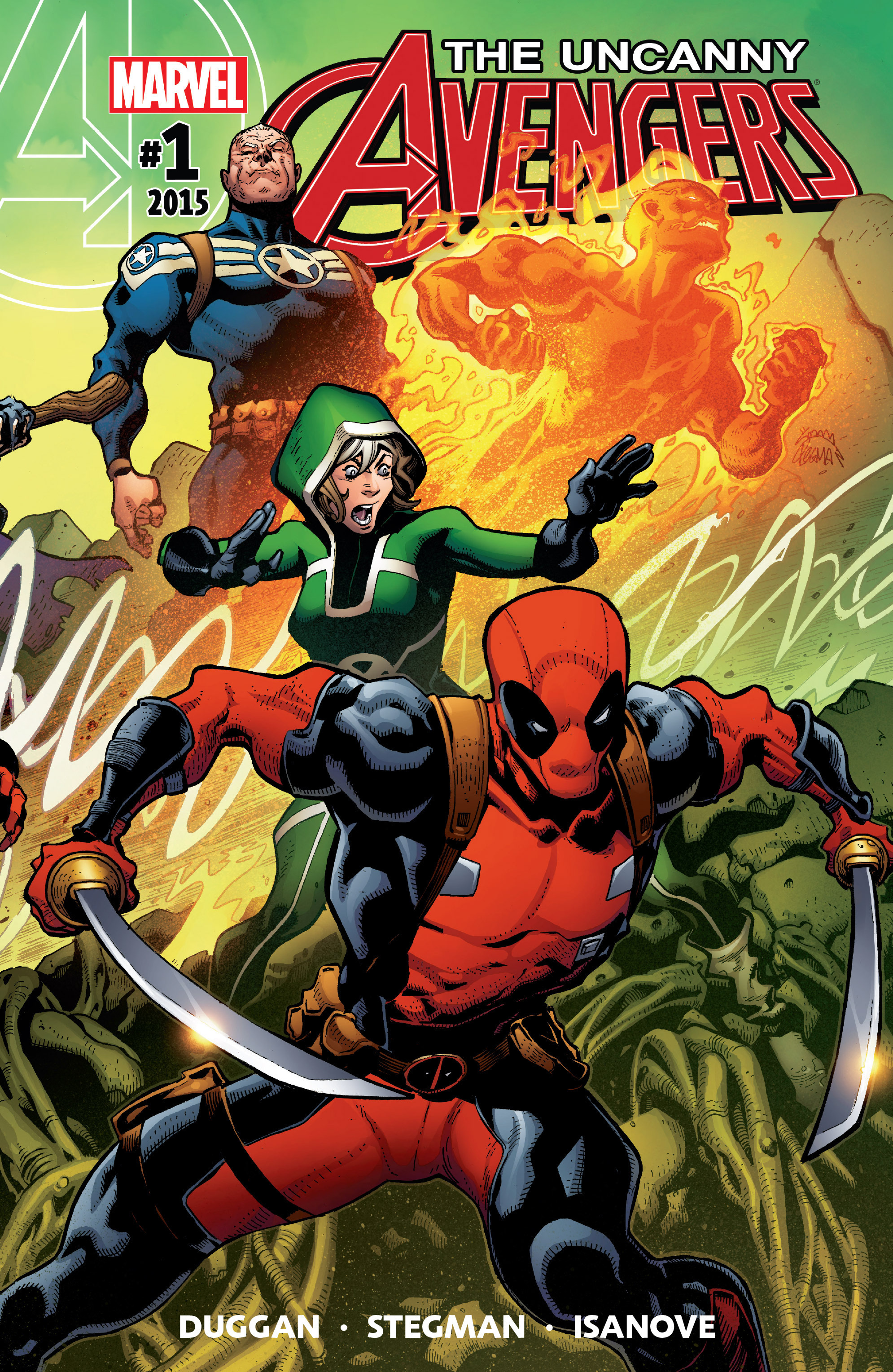 Read online Uncanny Avengers [II] comic -  Issue #1 - 1