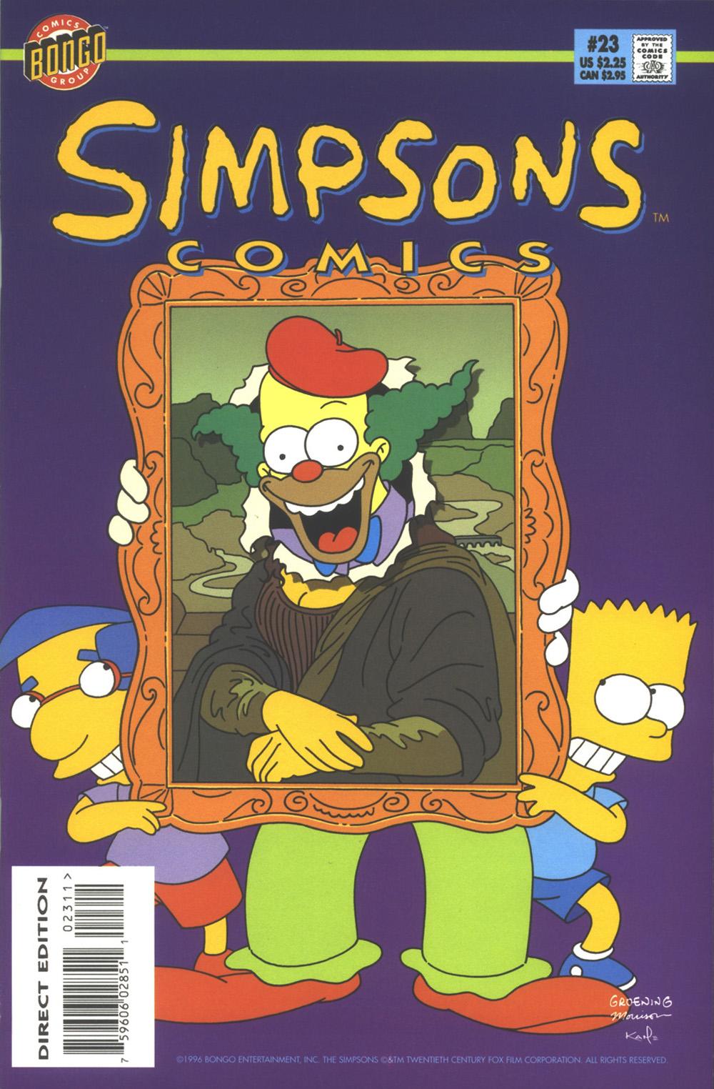 Read online Simpsons Comics comic -  Issue #23 - 1