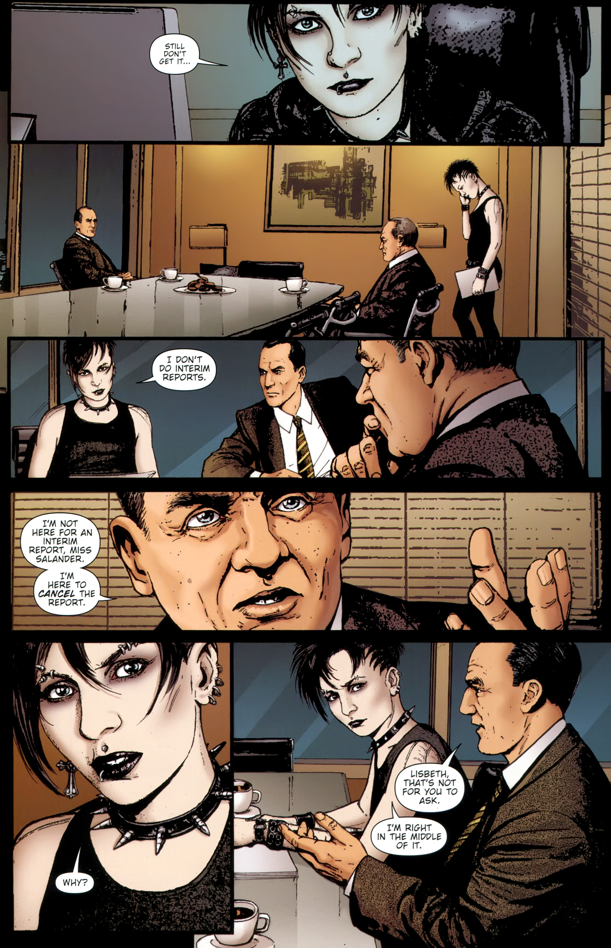 Read online The Girl With the Dragon Tattoo comic -  Issue # TPB 1 - 78