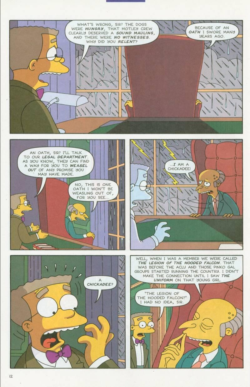 Read online Simpsons Comics comic -  Issue #63 - 13
