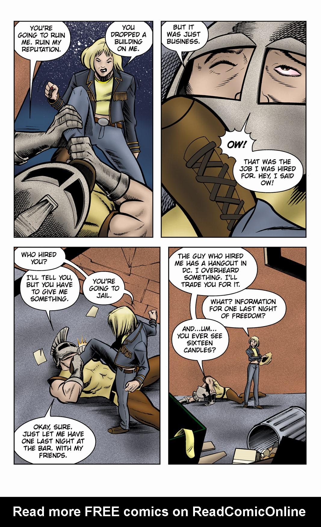 Read online SideChicks comic -  Issue #3 - 12