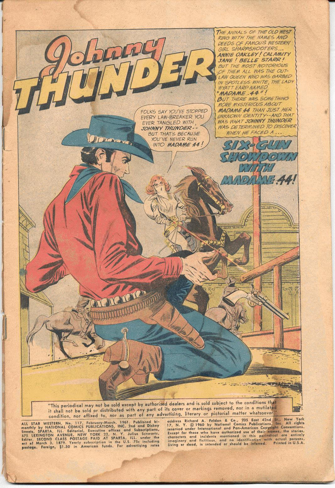 Read online All-Star Western (1951) comic -  Issue #117 - 2