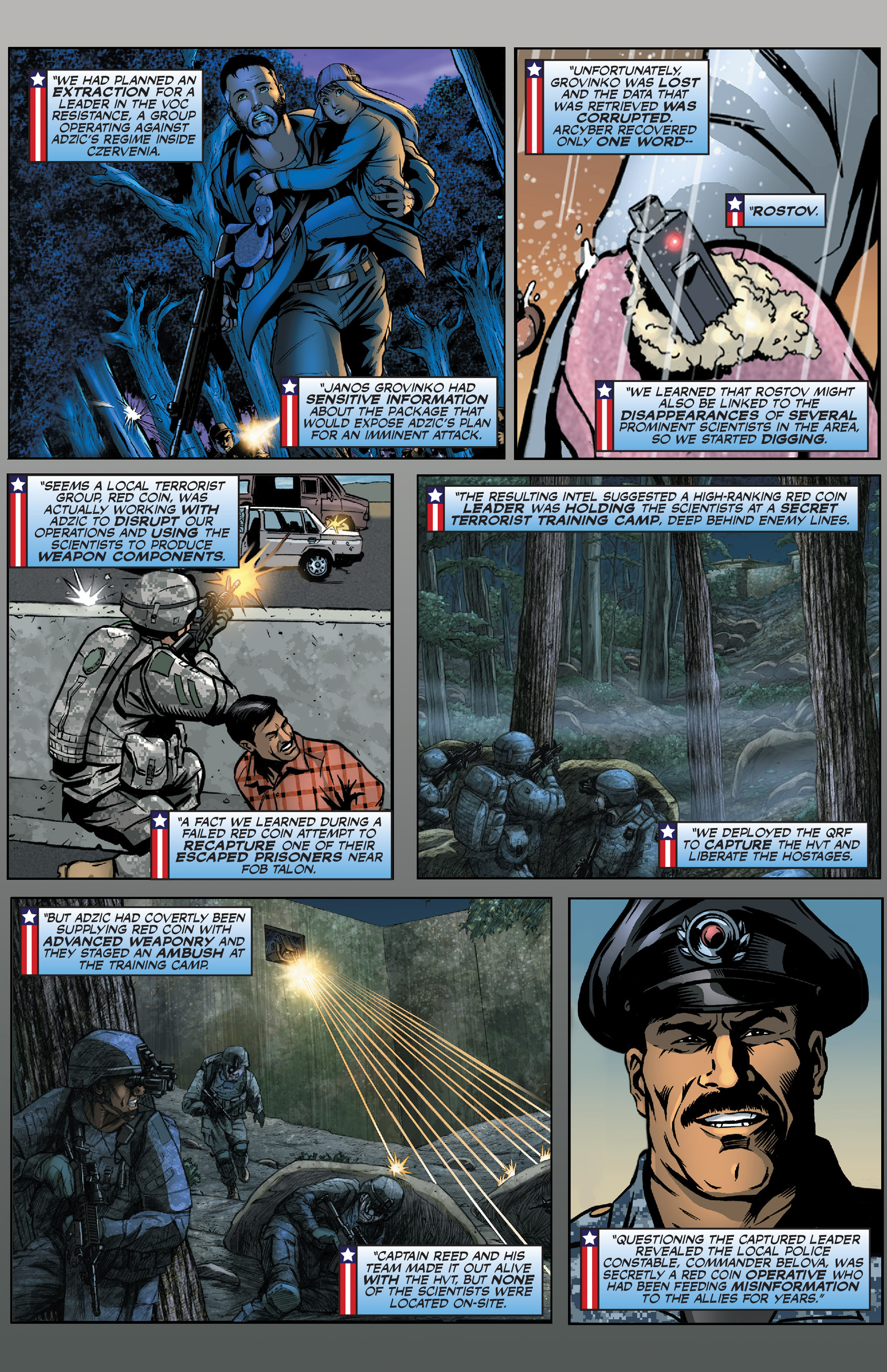Read online America's Army comic -  Issue #0 - 7