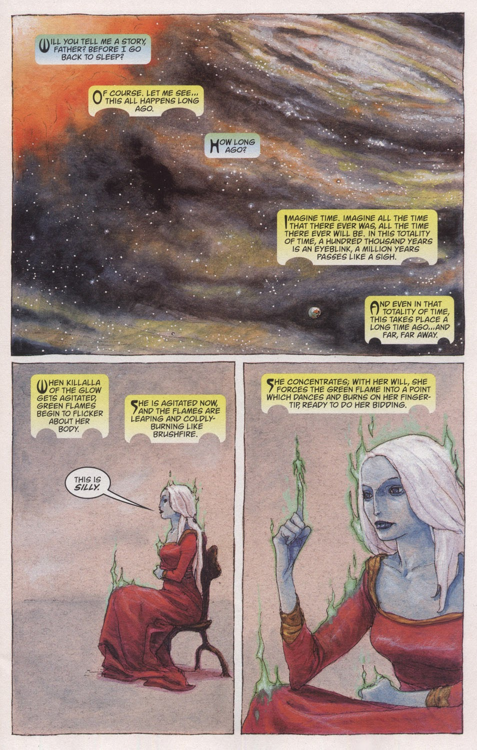 Read online The Sandman: Endless Nights comic -  Issue # _Special - 5