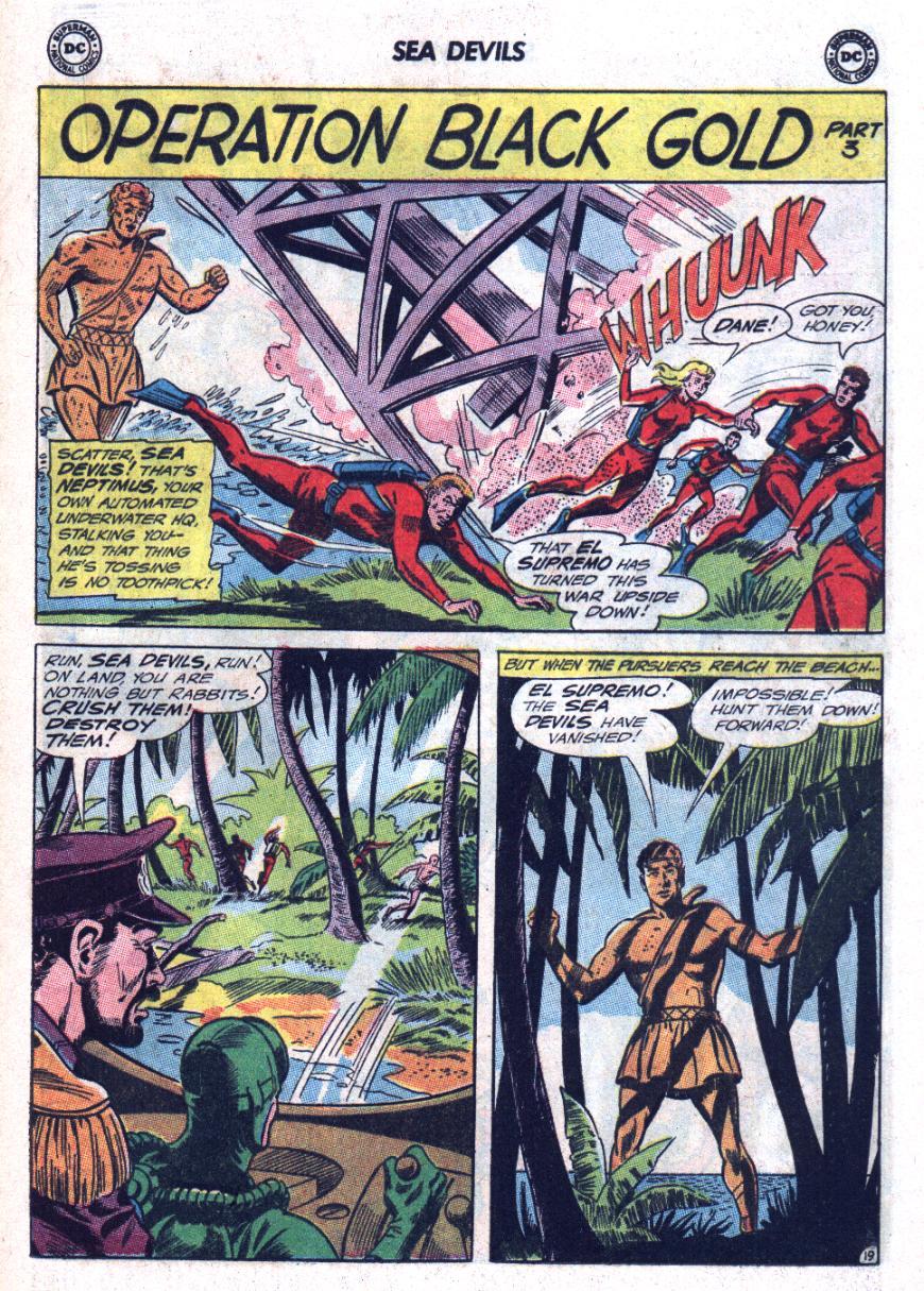 Read online Sea Devils comic -  Issue #25 - 26