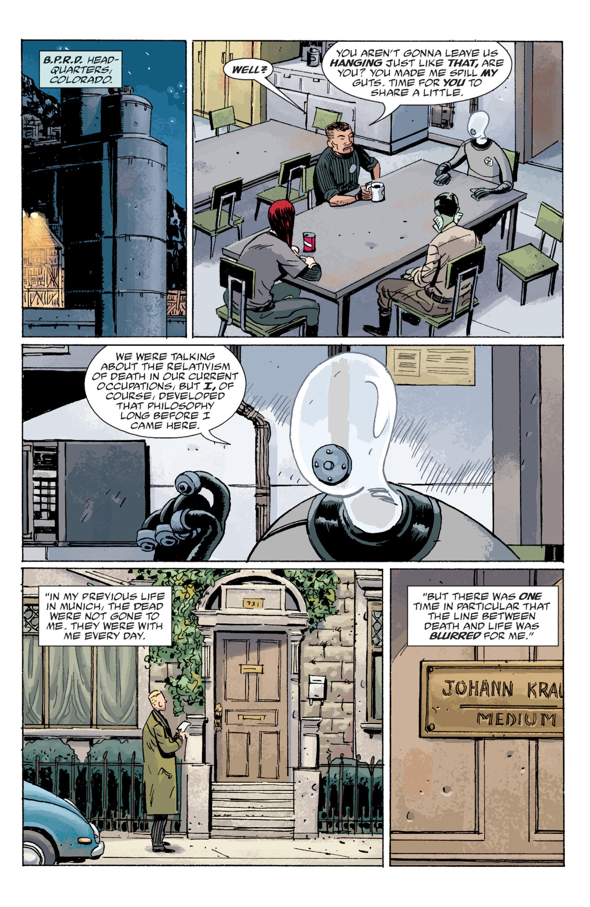 Read online B.P.R.D. (2003) comic -  Issue # TPB 6 - 68