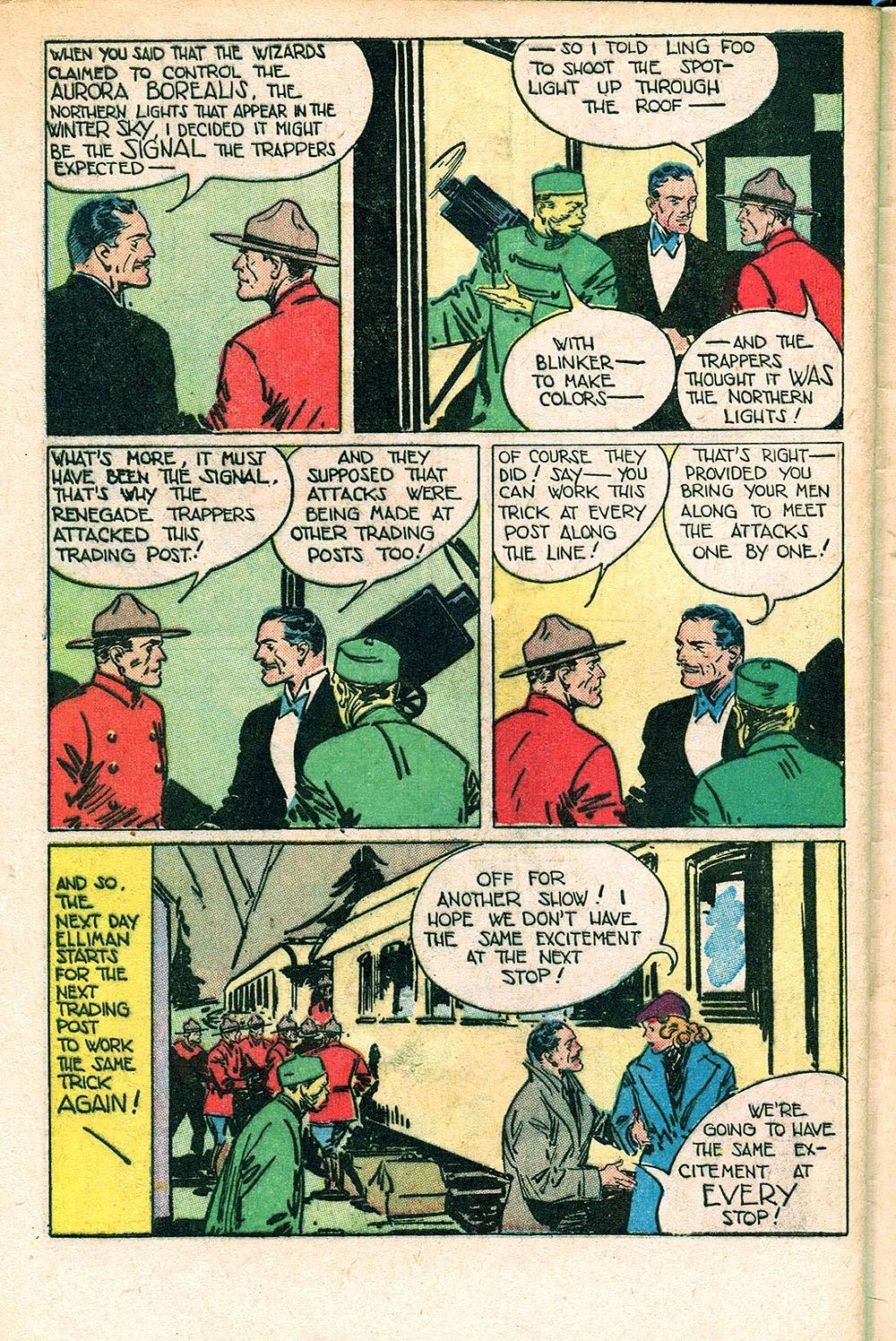 Read online Super-Magician Comics comic -  Issue #55 - 44