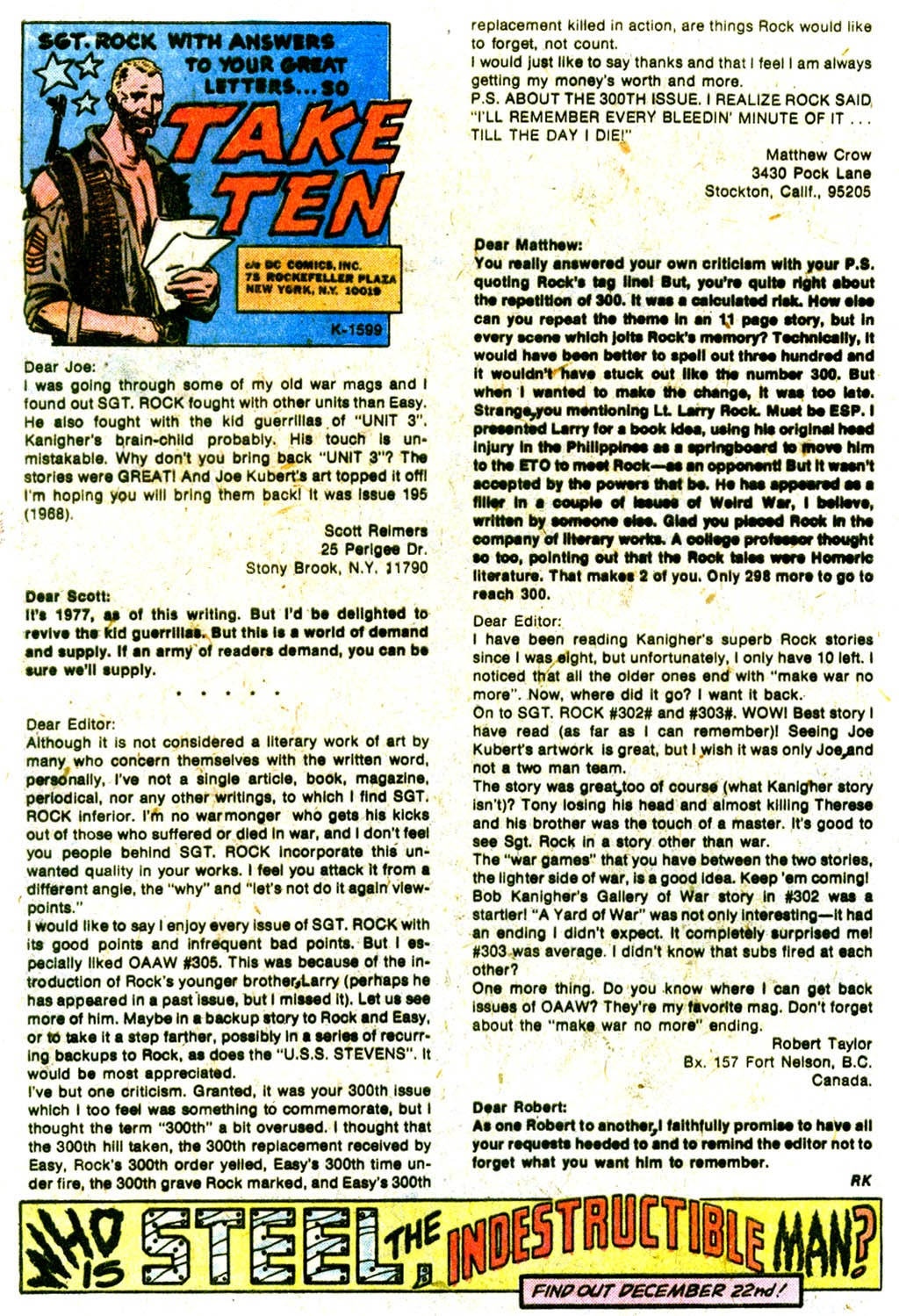 Read online Sgt. Rock comic -  Issue #313 - 31