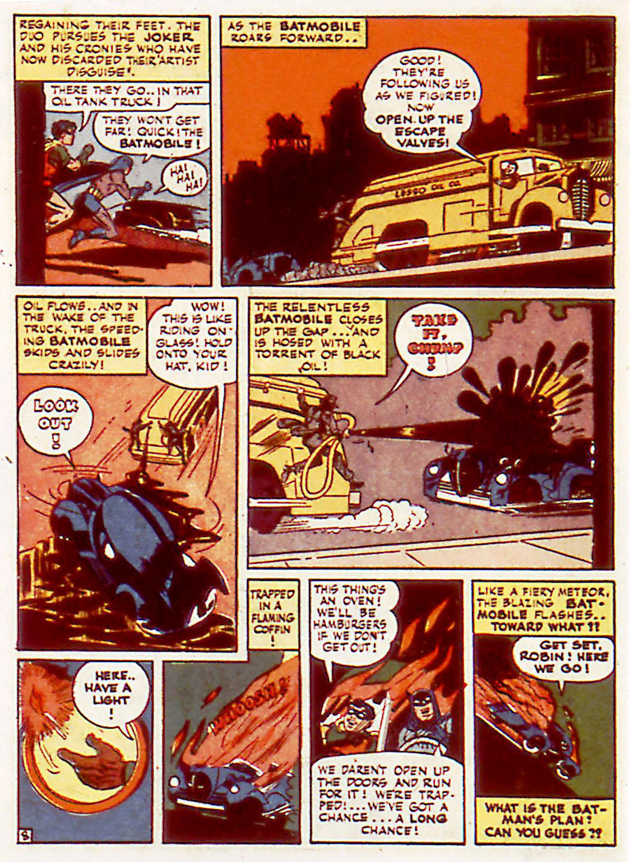 Read online Detective Comics (1937) comic -  Issue #71 - 10
