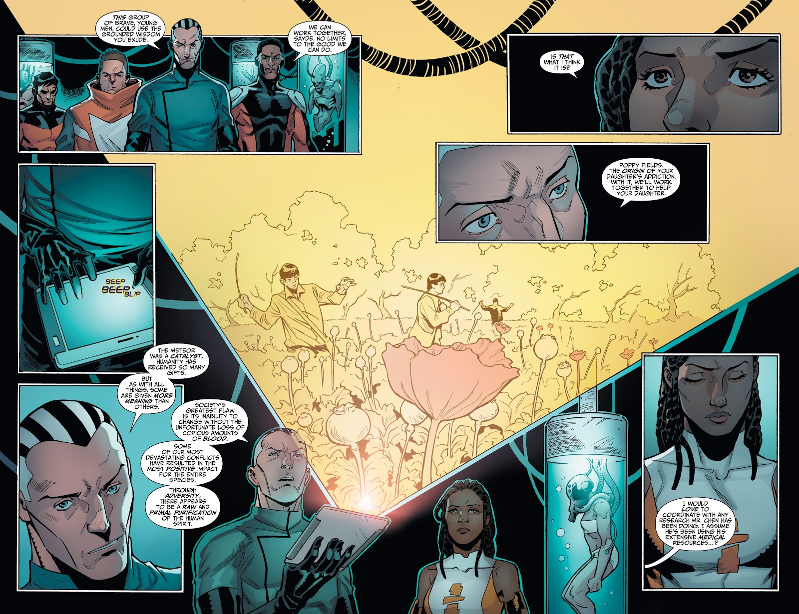 Read online Incidentals comic -  Issue #18 - 4