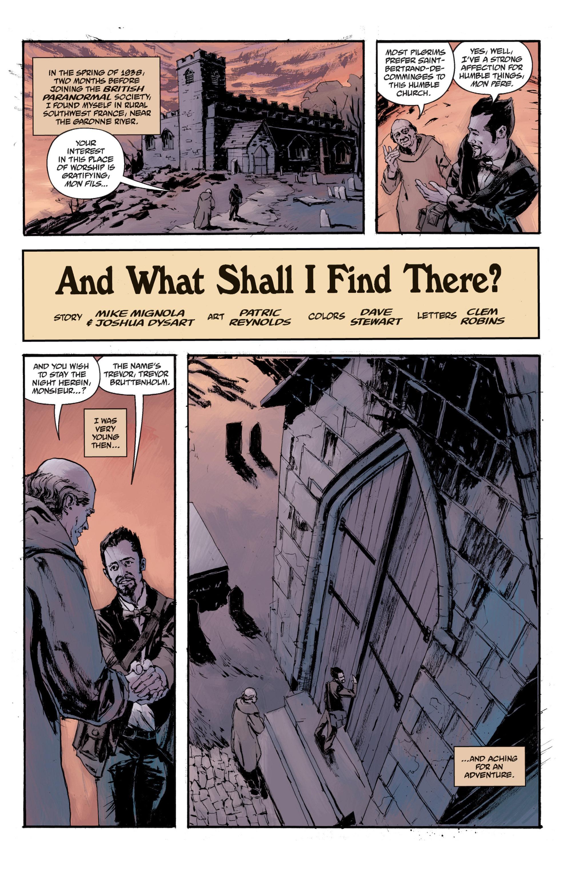 Read online B.P.R.D. (2003) comic -  Issue # TPB 13 - 137