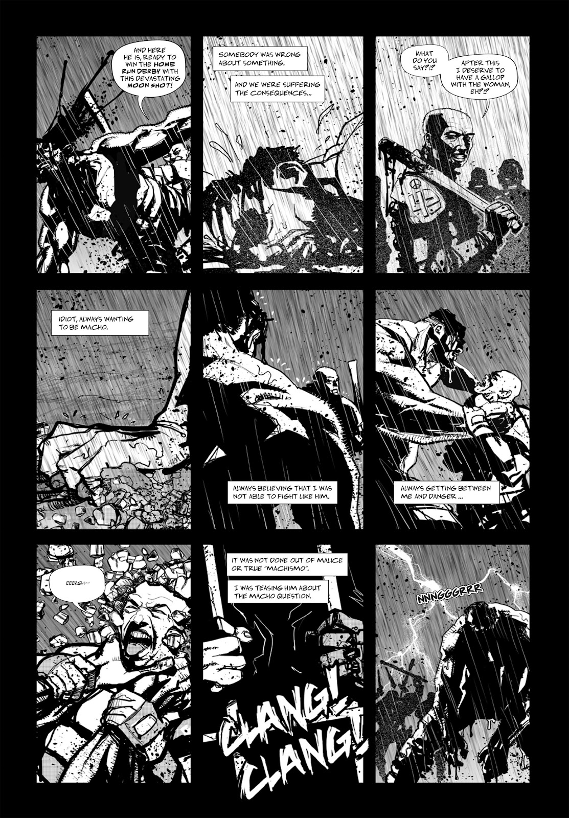 Read online Wrath of God comic -  Issue # _TPB - 74